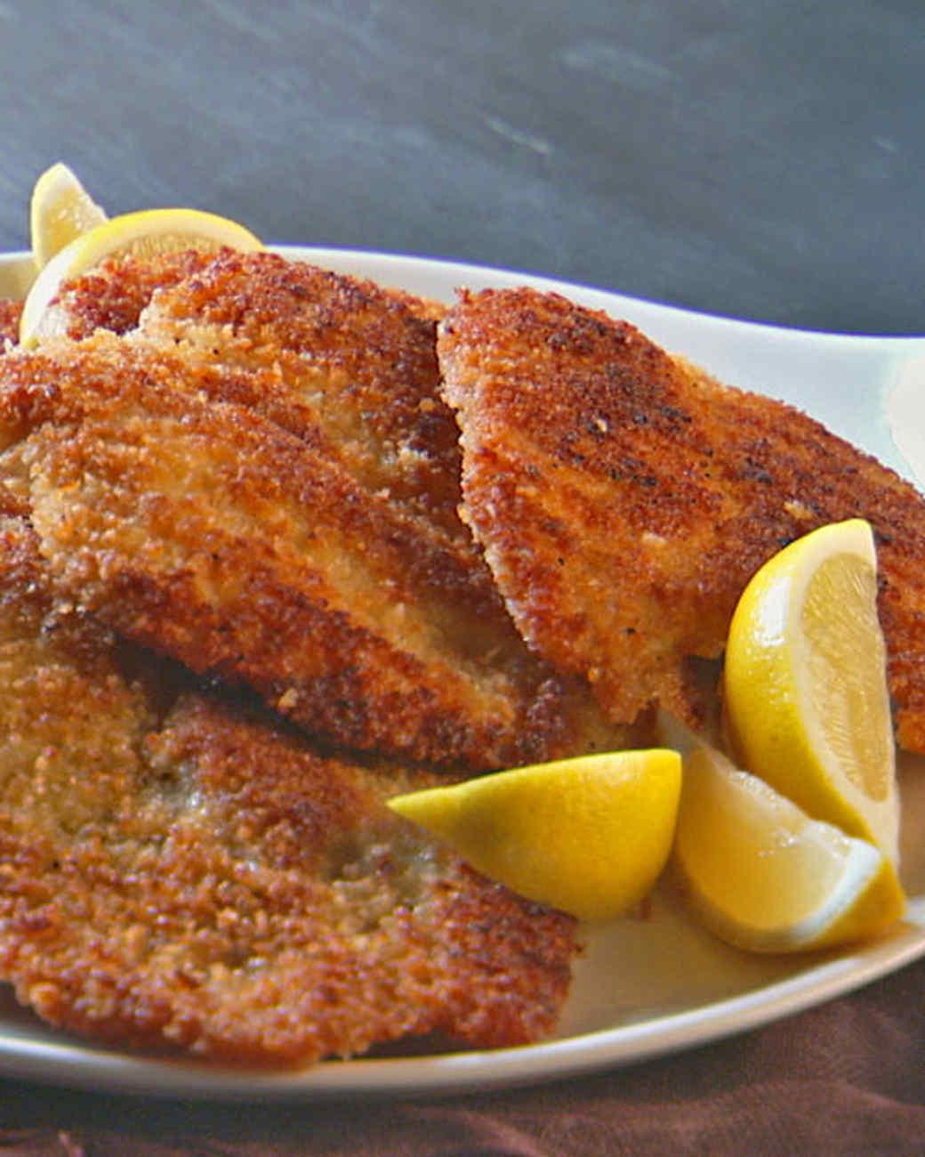 Lucinda's Chicken Milanese