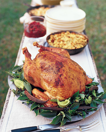 Herb-Roasted Turkey with Pan Gravy