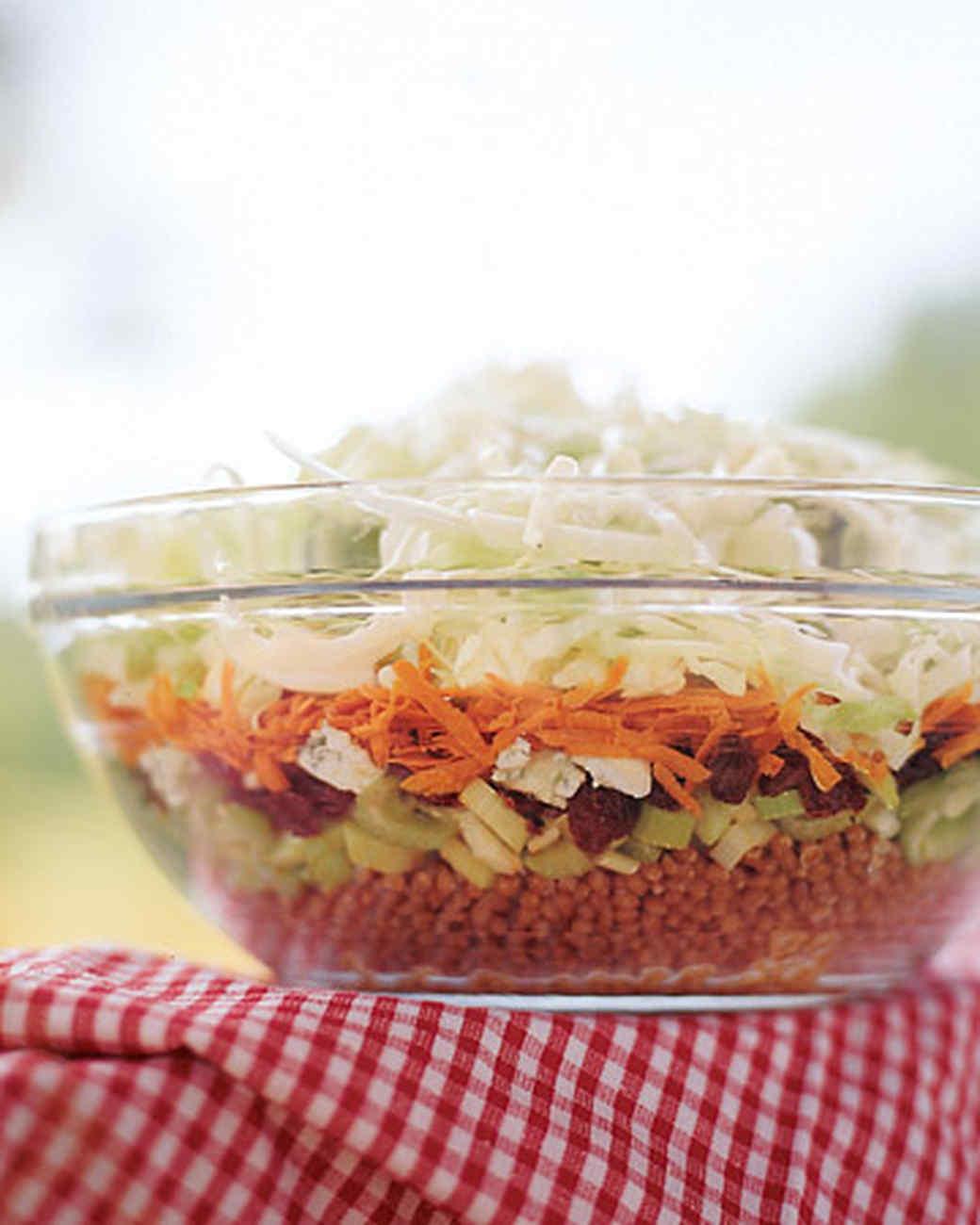 Dig-Deep Layered Summer Salad