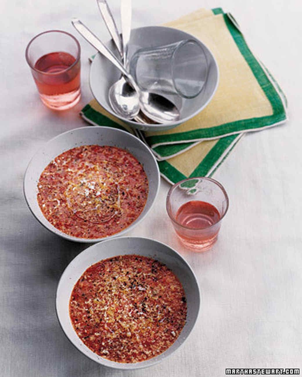 Bread and Tomato Soup (Pappa al Pomodoro)