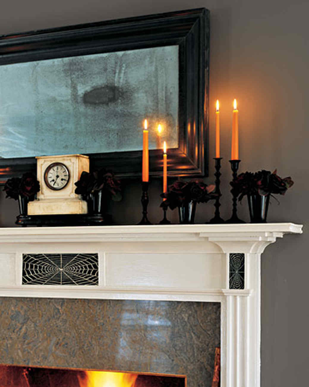 Fireplace Halloween Decorations: Halloween Crafts Ideas