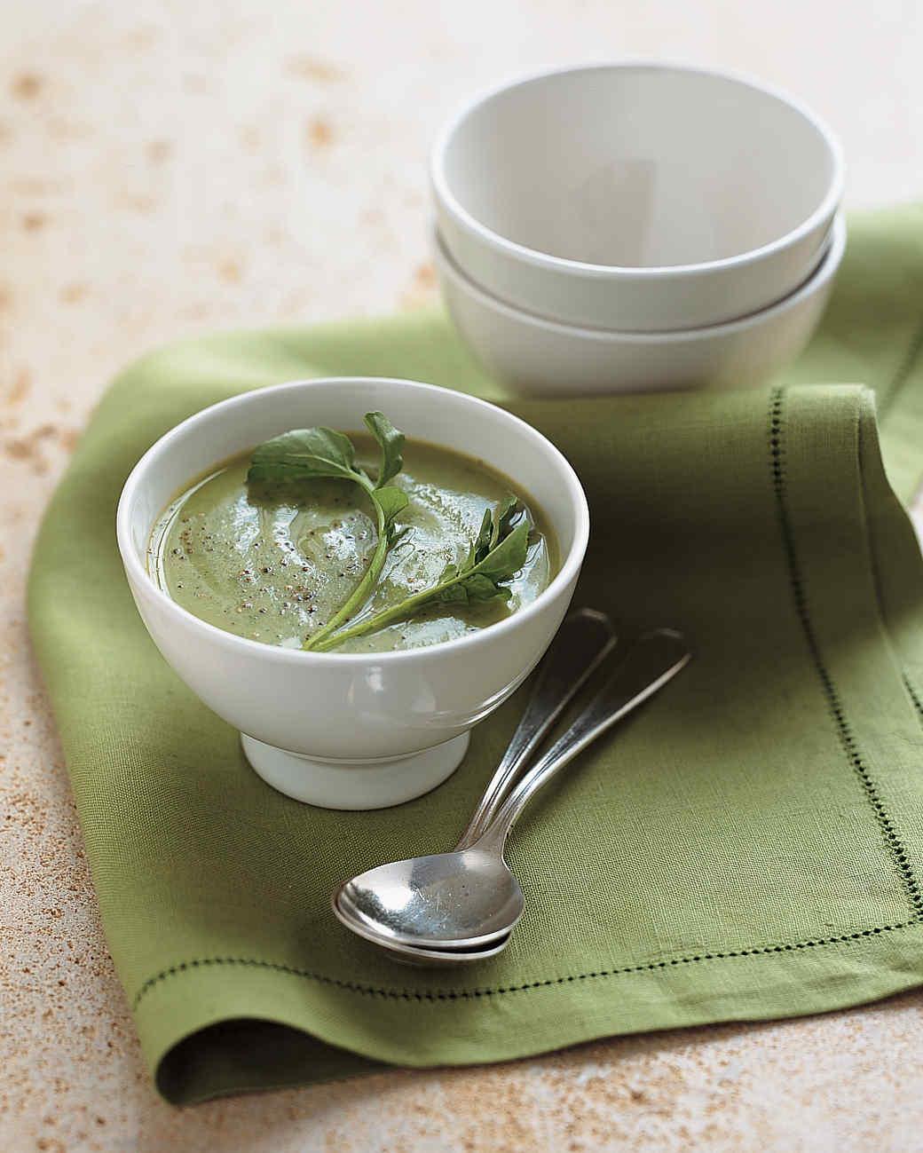 Watercress-Cauliflower Soup