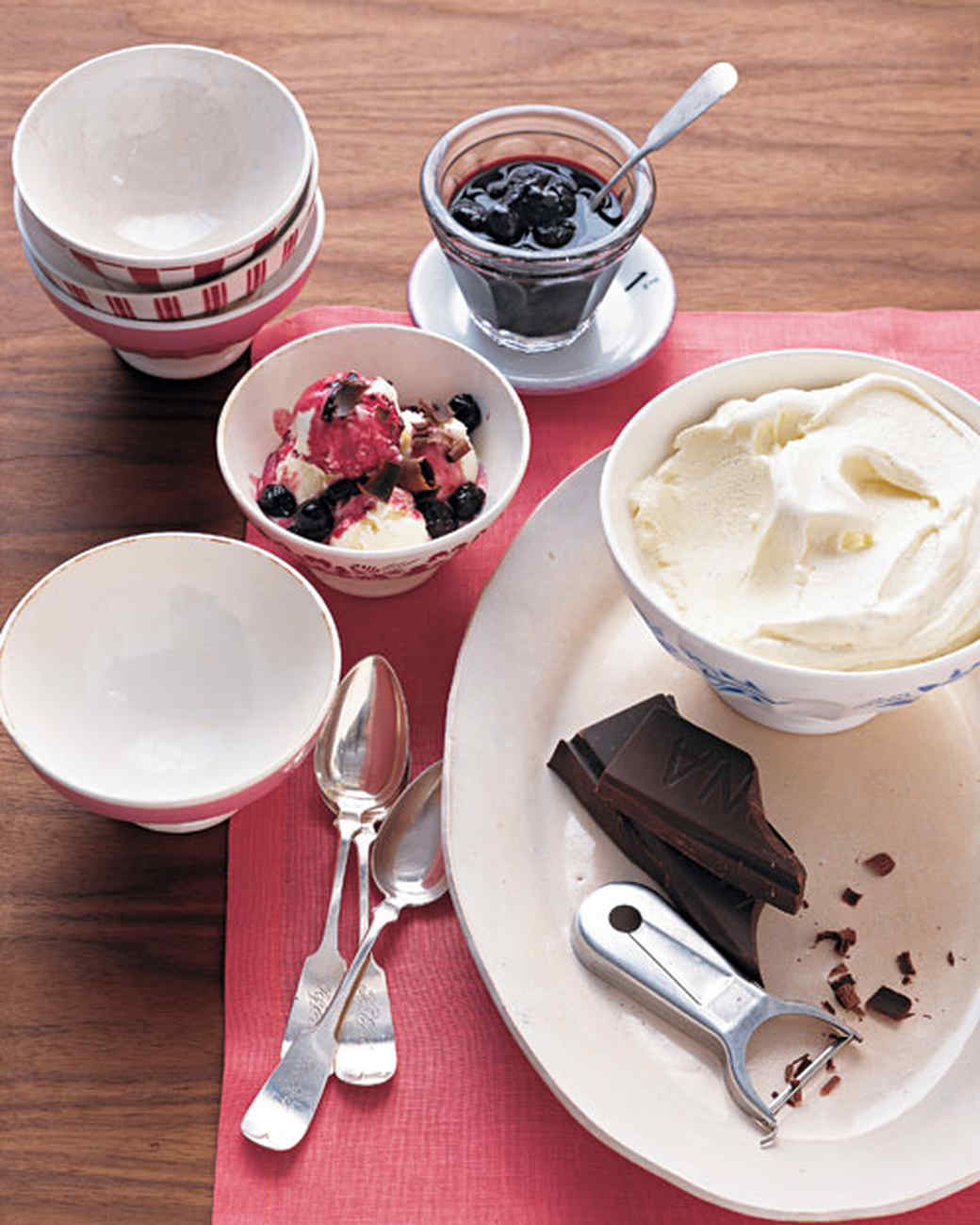 Vanilla Frozen Yogurt Recipe | Martha Stewart