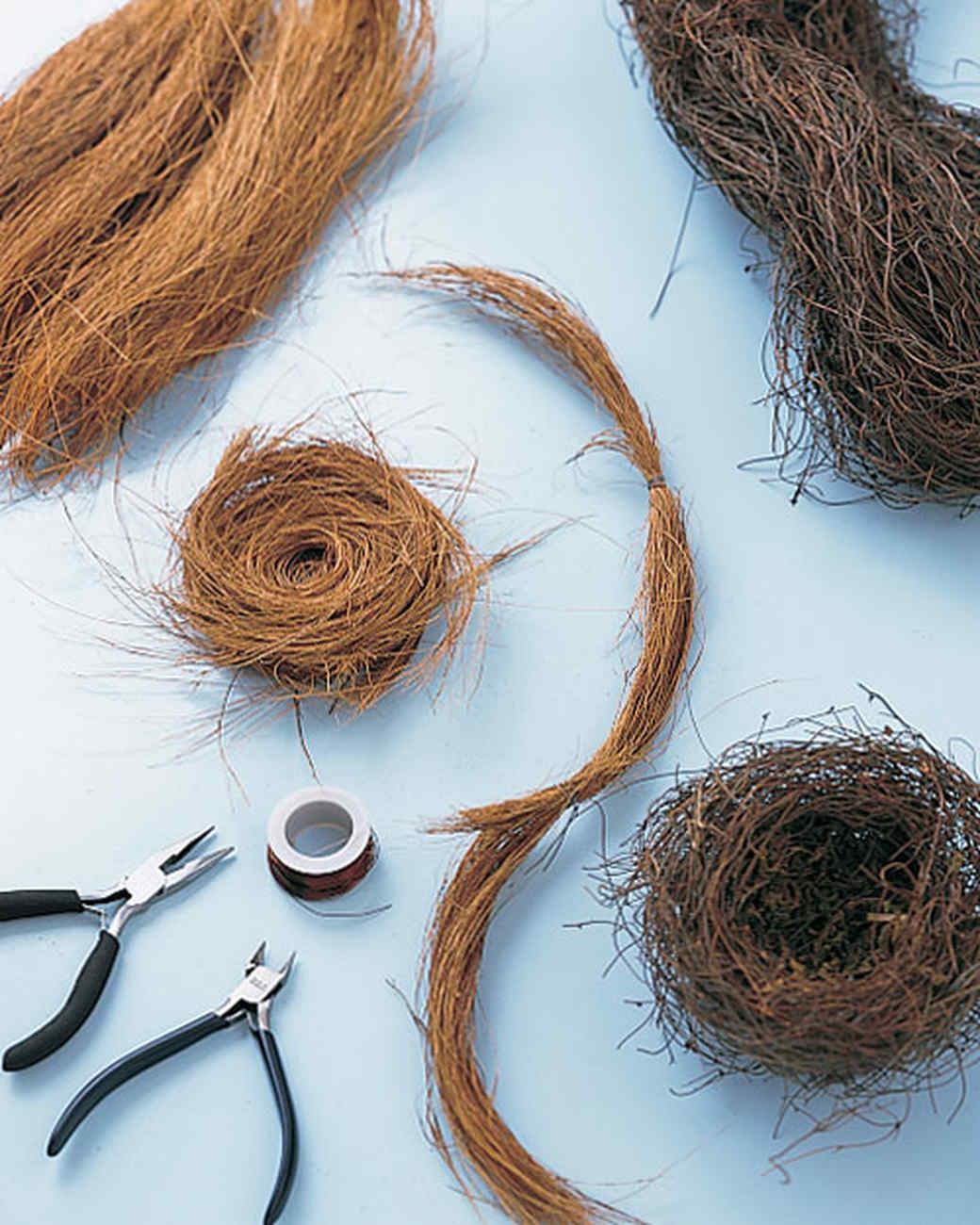 Coconut Fiber Or Grapevine Nests Martha Stewart