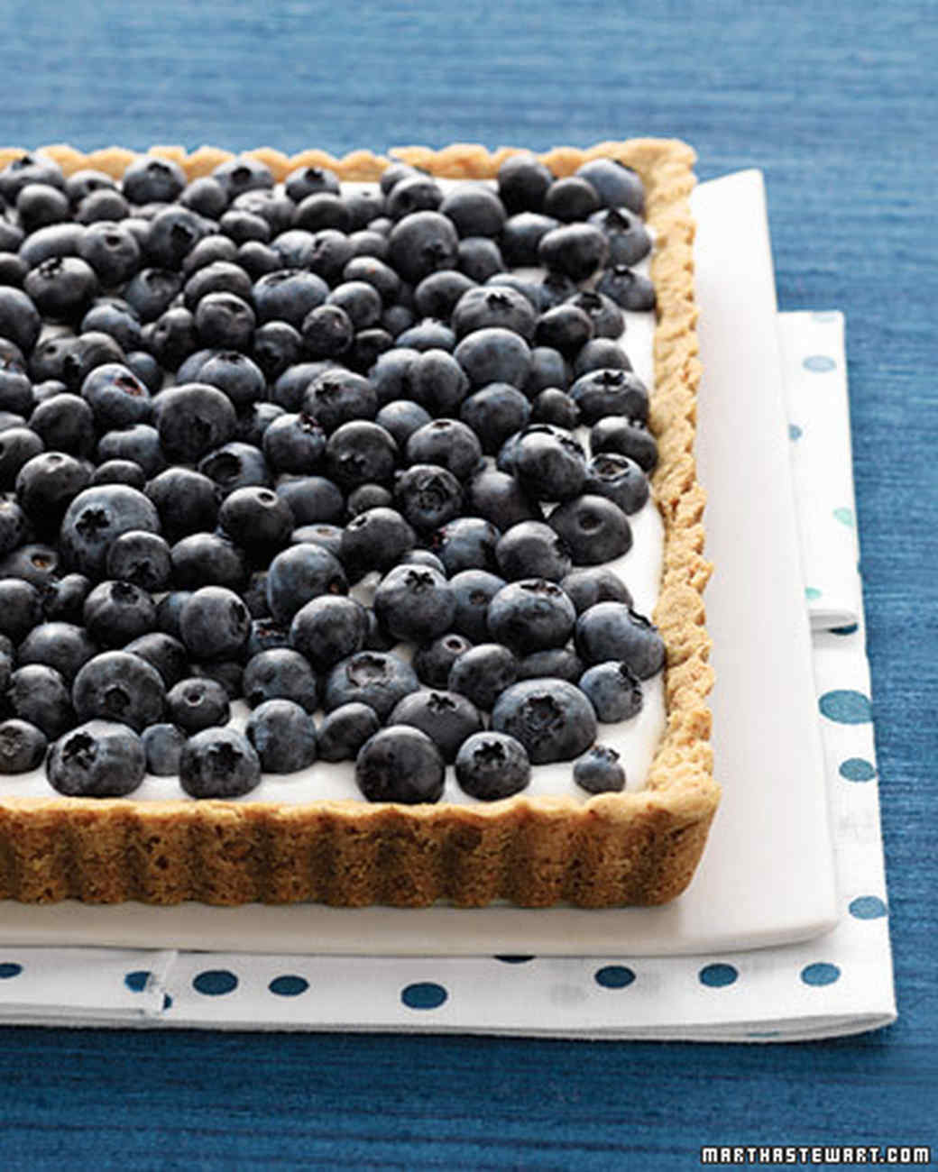 Blueberry and Buttermilk Tart