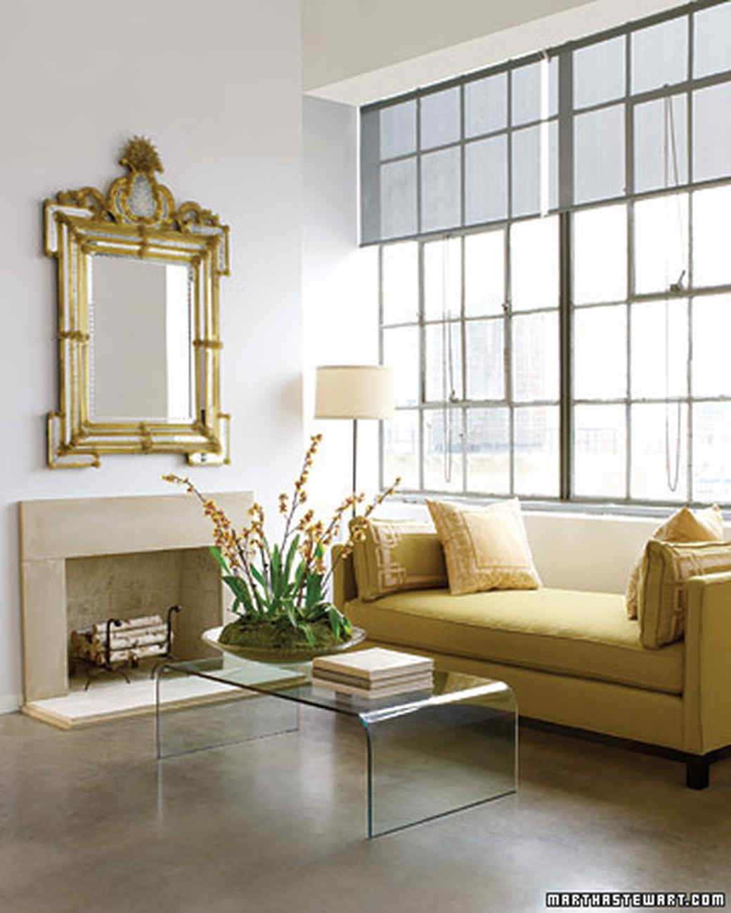 Small Living Room  Try These 15 Space Saving Decorating Ideas Martha Stewart