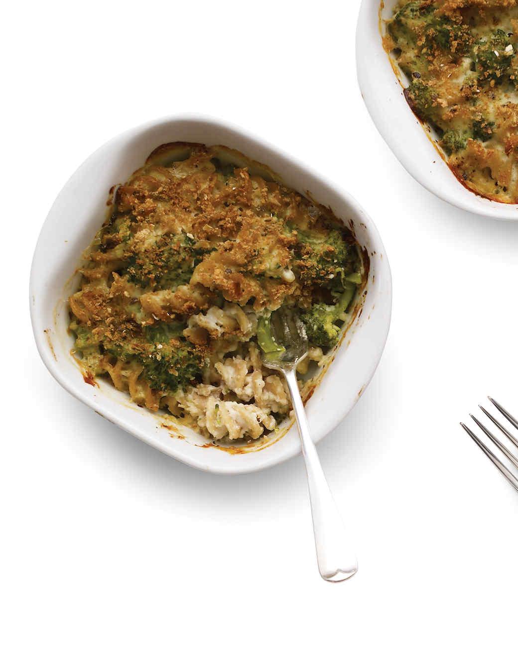 Broccoli and Pasta Casseroles