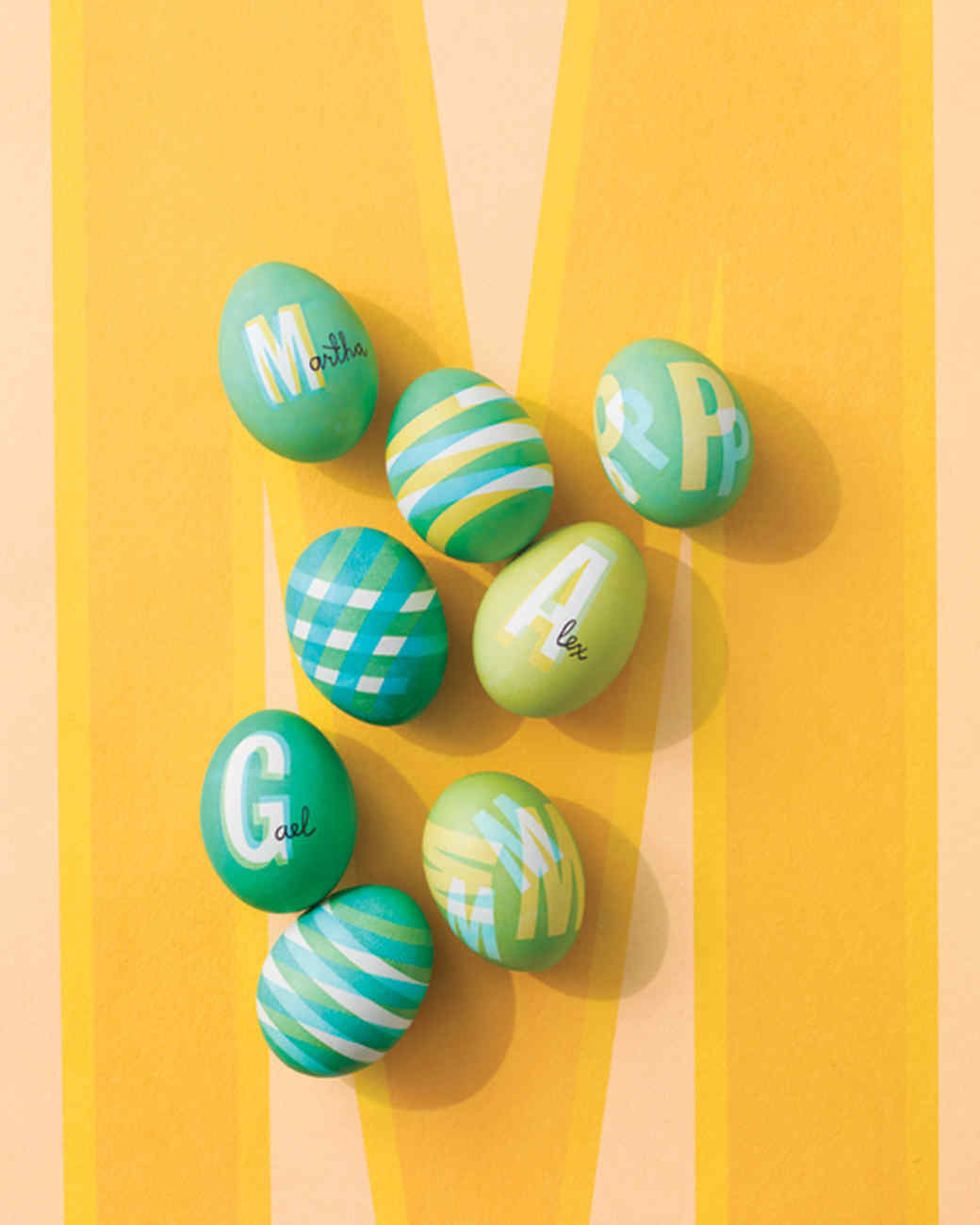 How to create a pattern on easter eggs martha stewart how to create a pattern on easter eggs negle Images