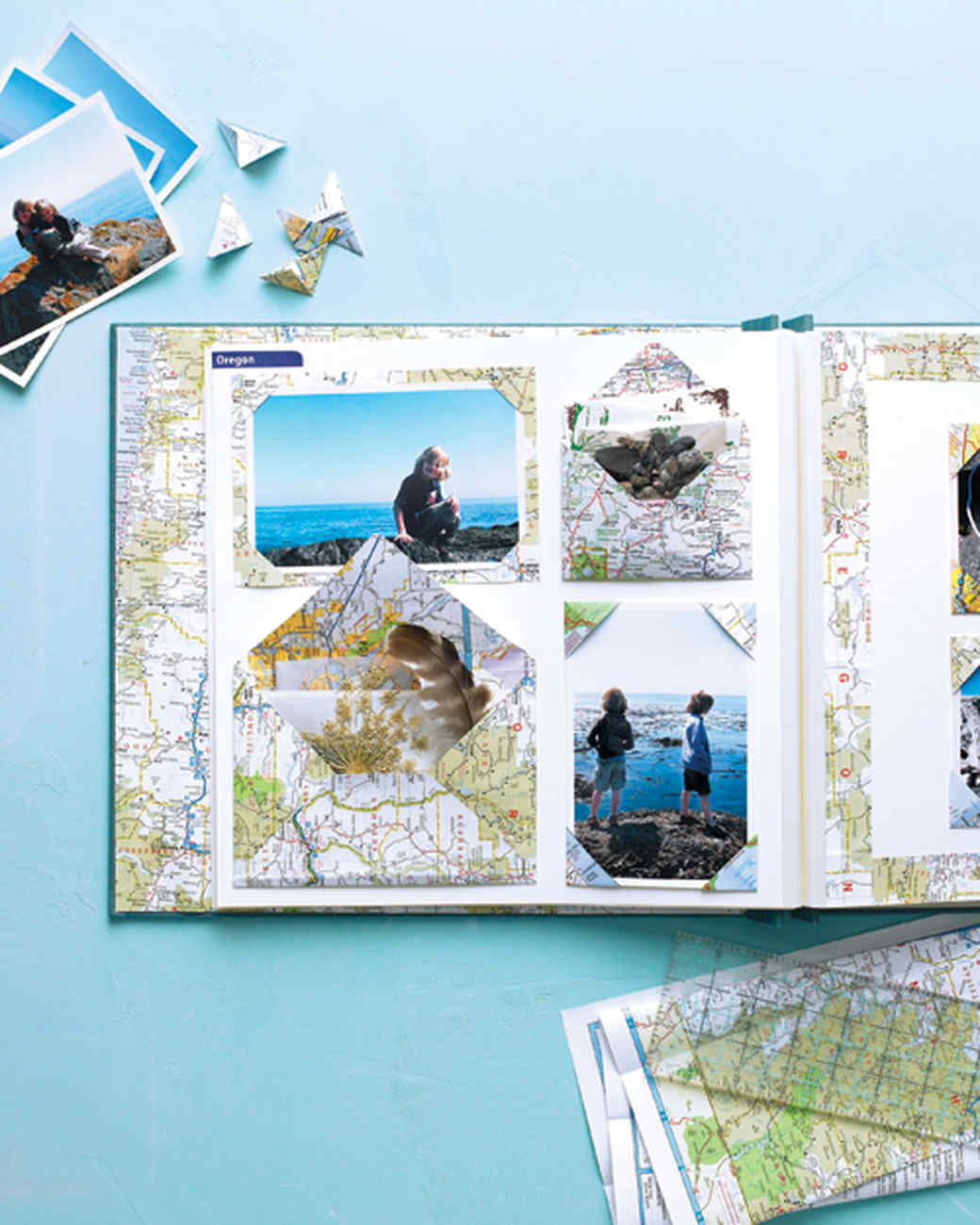 Map Scrapbooks