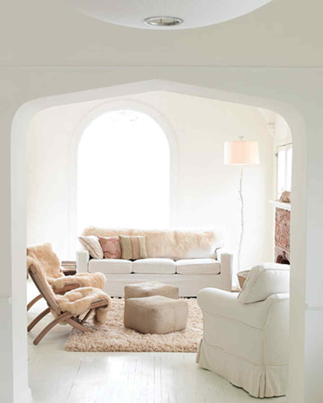 The Living Room Home Tour  Spanish Style Martha Stewart