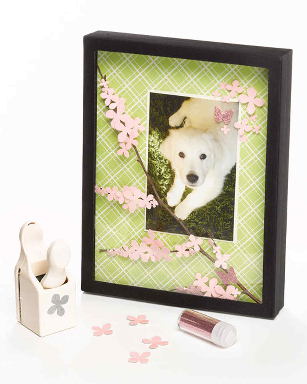 Blossoming Branch Shadow Box