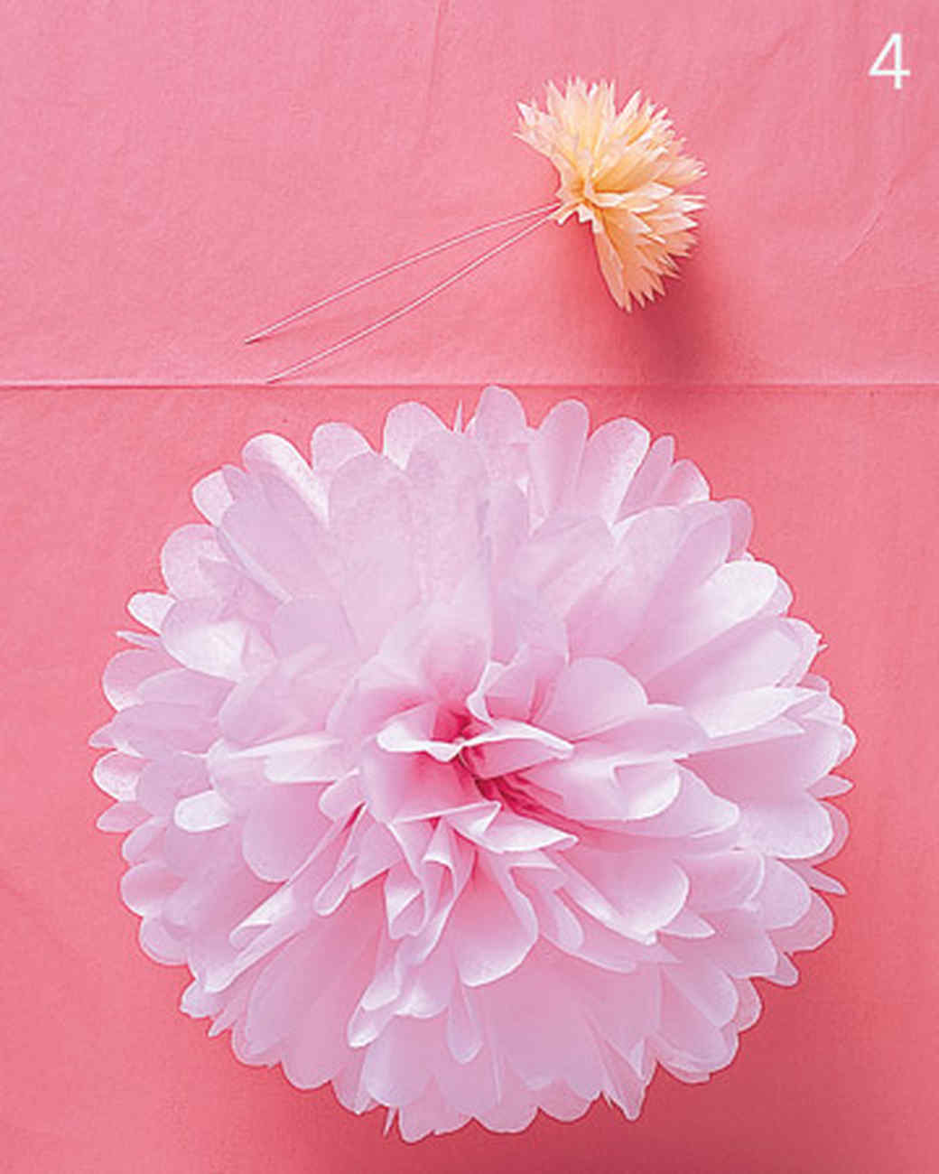 Pom poms and luminarias video martha stewart materials tissue paper dhlflorist Images