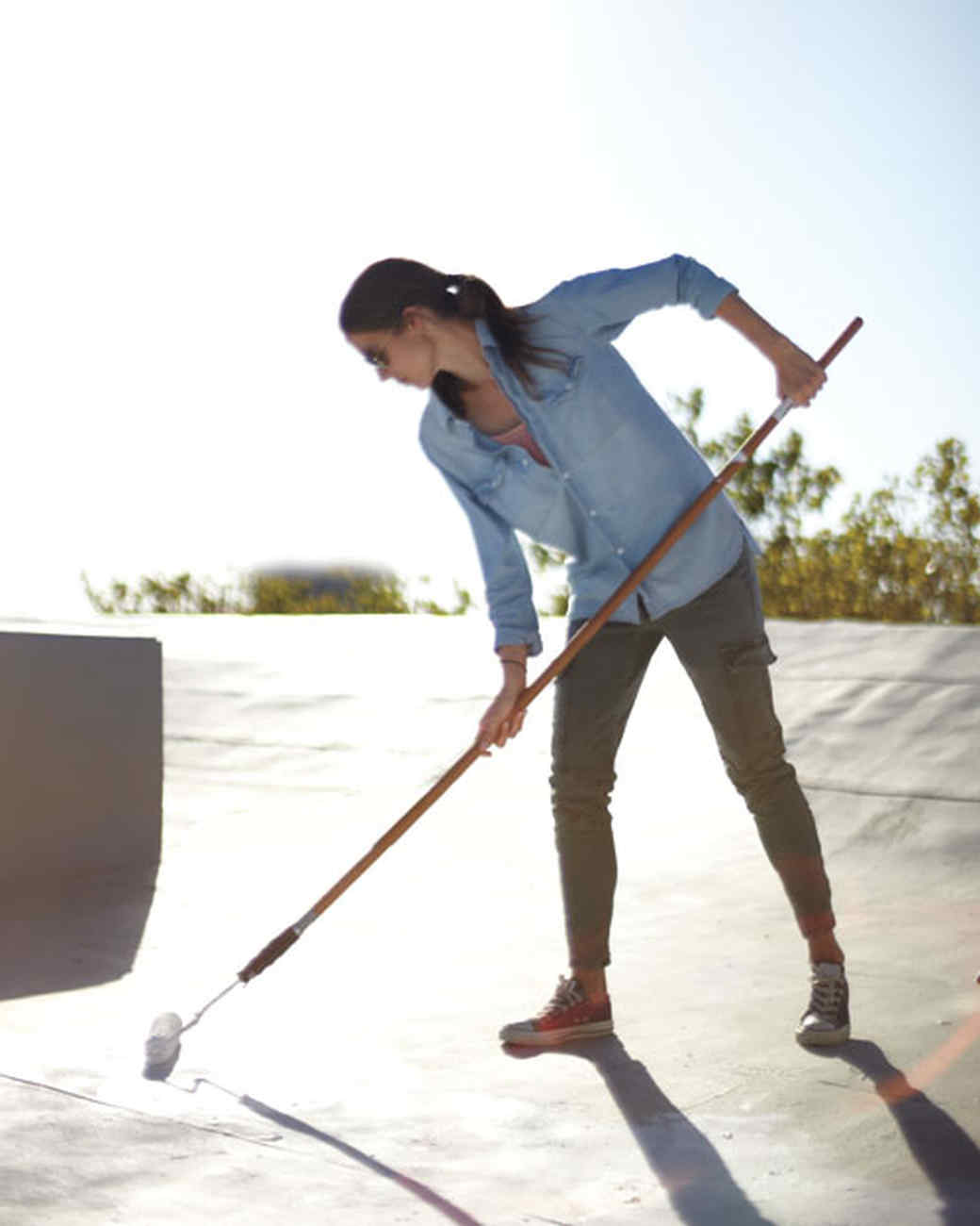 Energy Saver: How to Paint Your Rooftop White