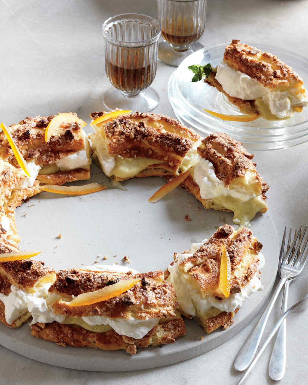 Orange-Rum Pastry Cream
