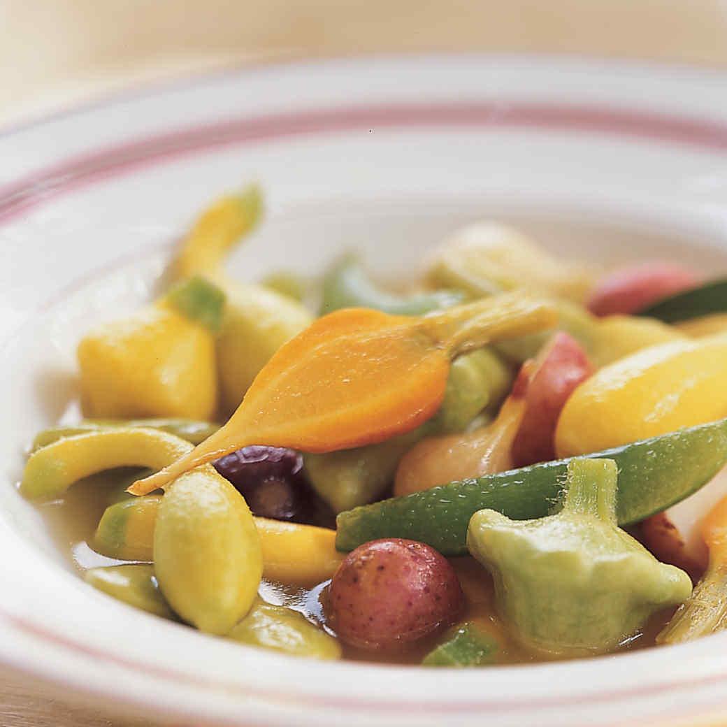 Summer Vegetable Pot au Feu