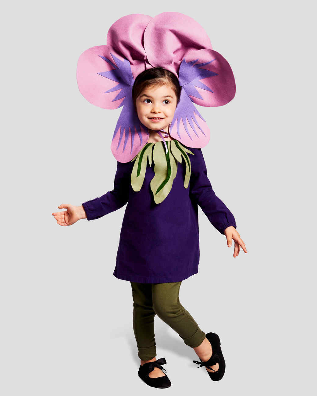 violet kid halloween costume