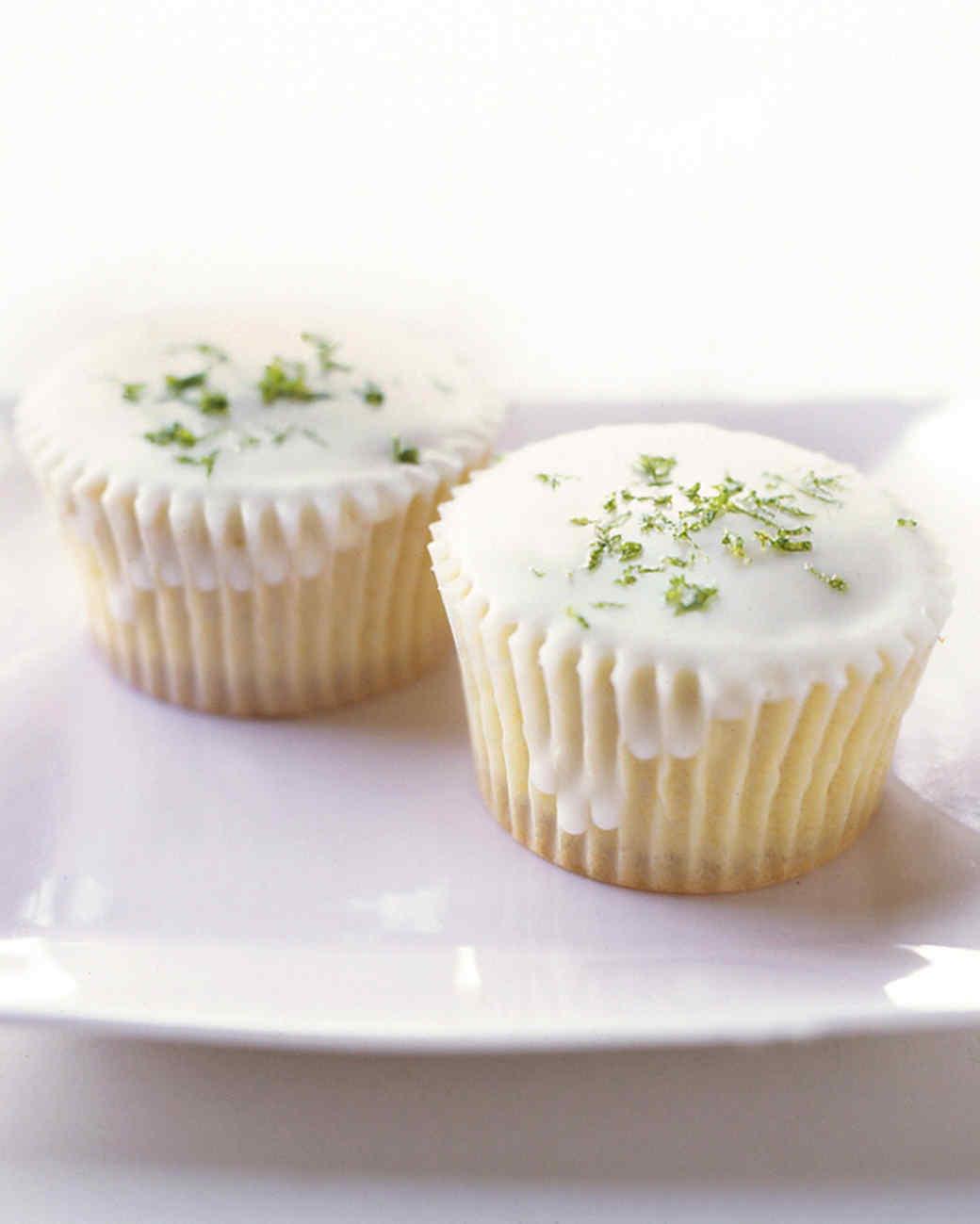 Triple-Citrus Cupcakes