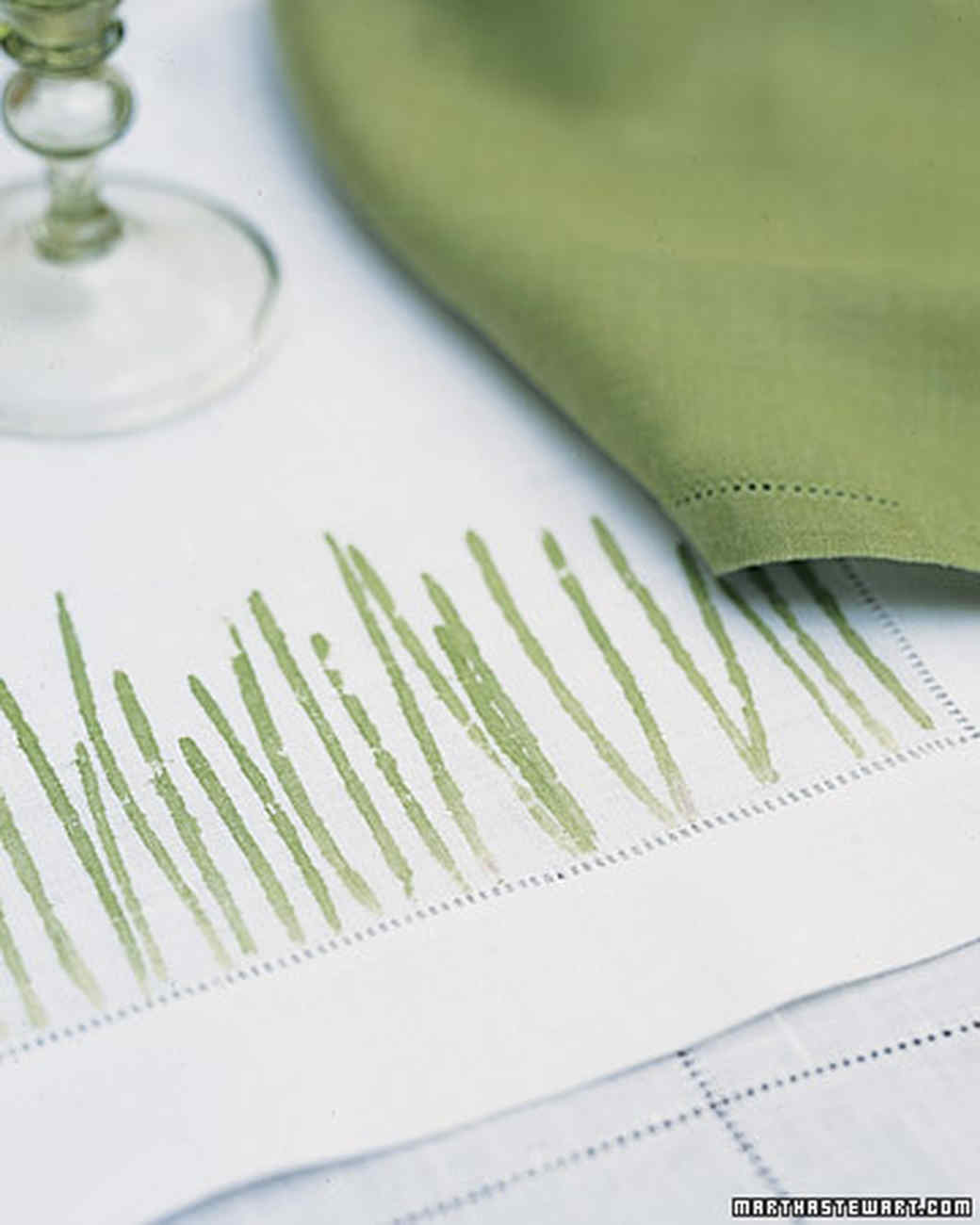 Pounded-Grass Place Mats