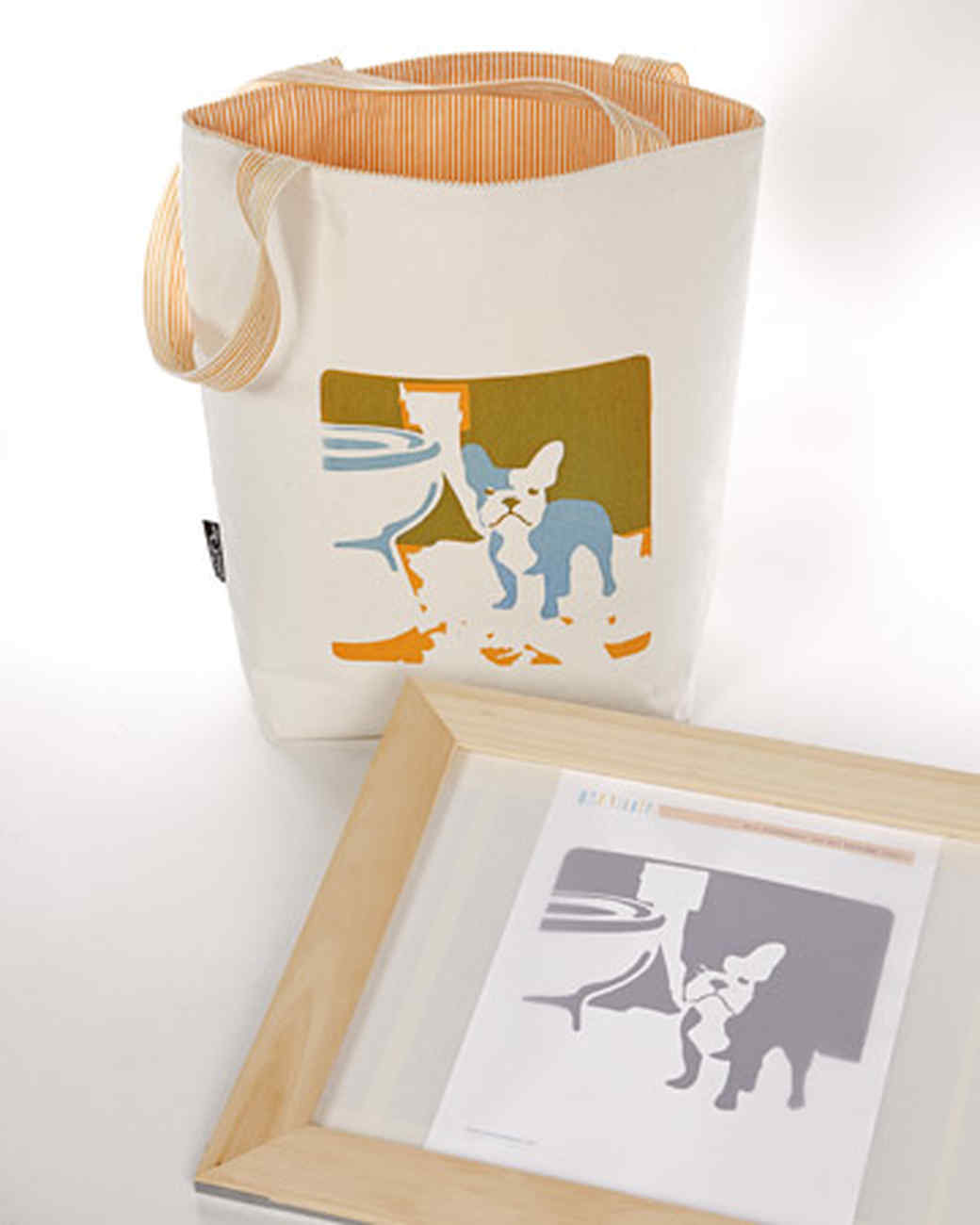 Picture-Frame Silk Screens