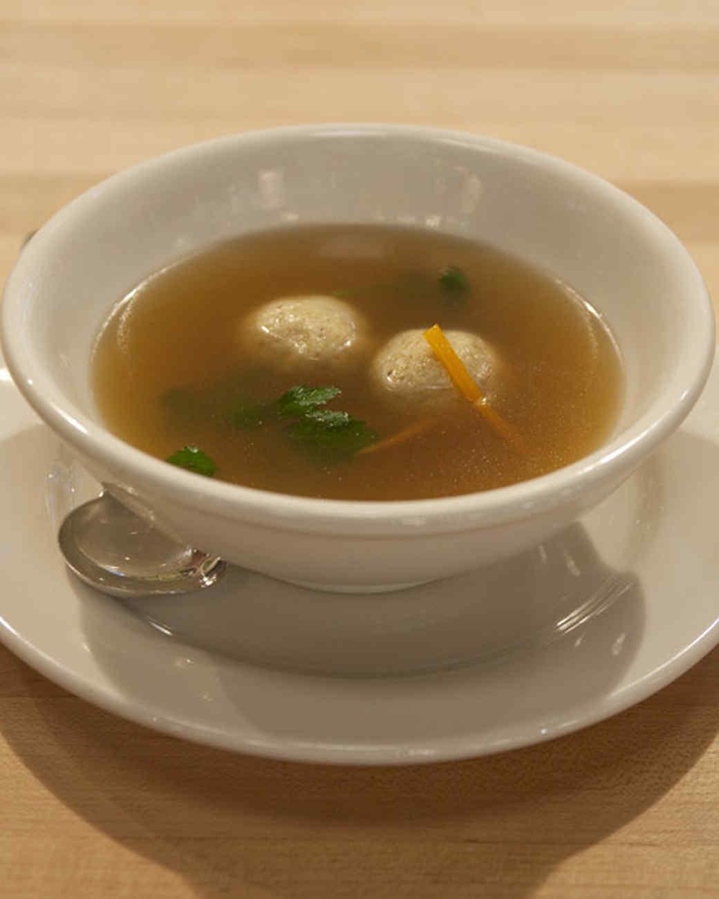 Craigie on Main's Matzo Ball Soup