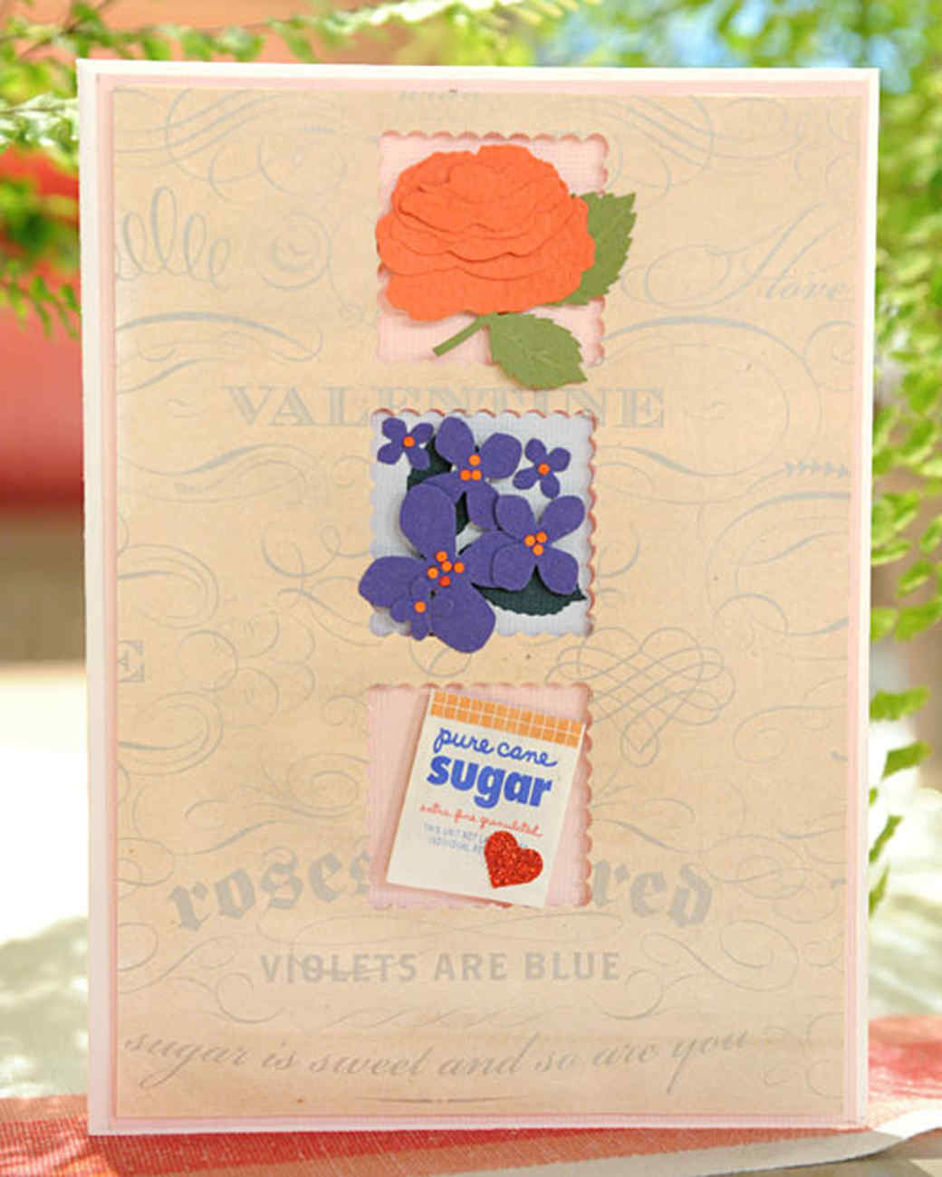 ''Roses Are Red'' Valentine Card