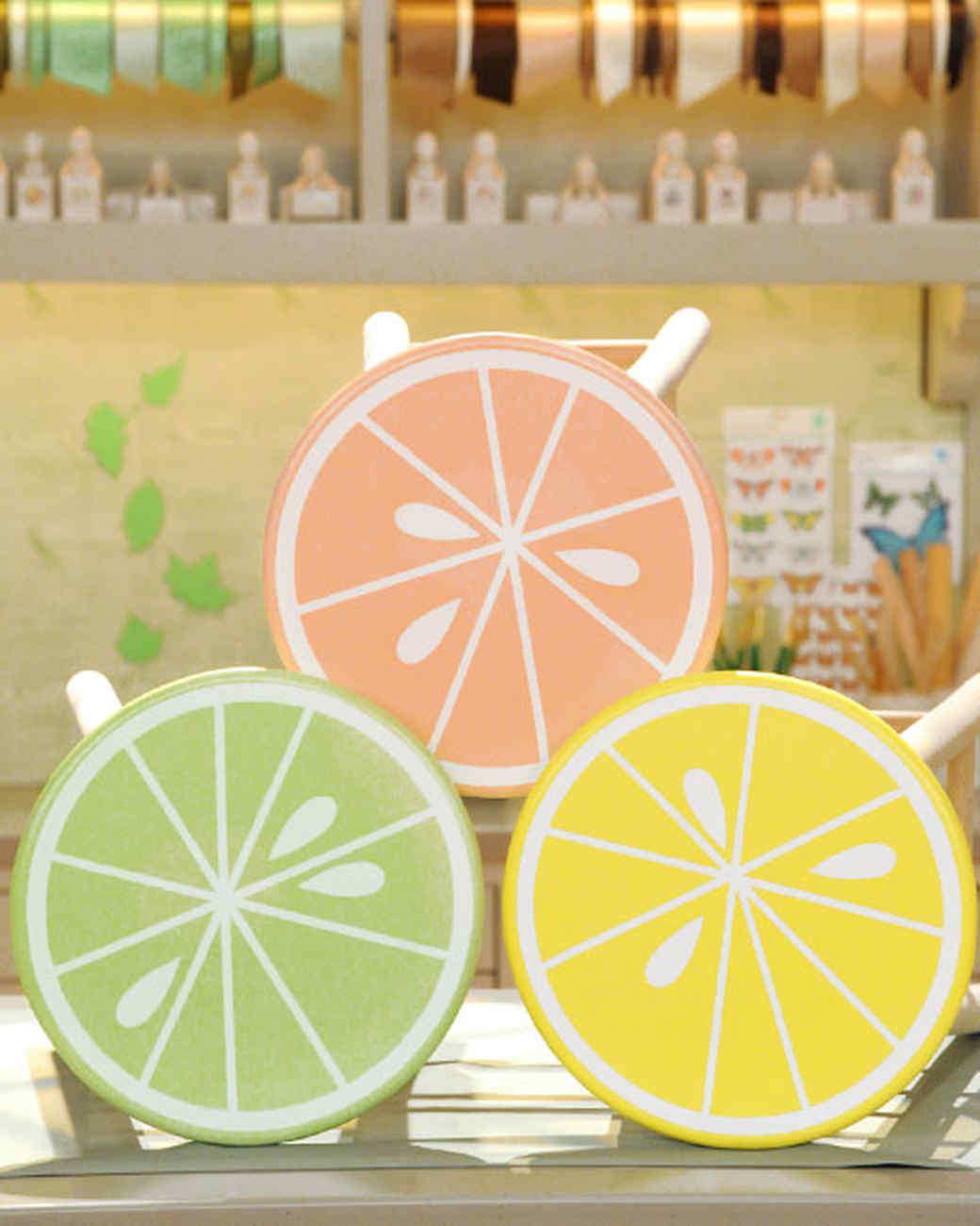 Citrus Stools Amp Video Martha Stewart