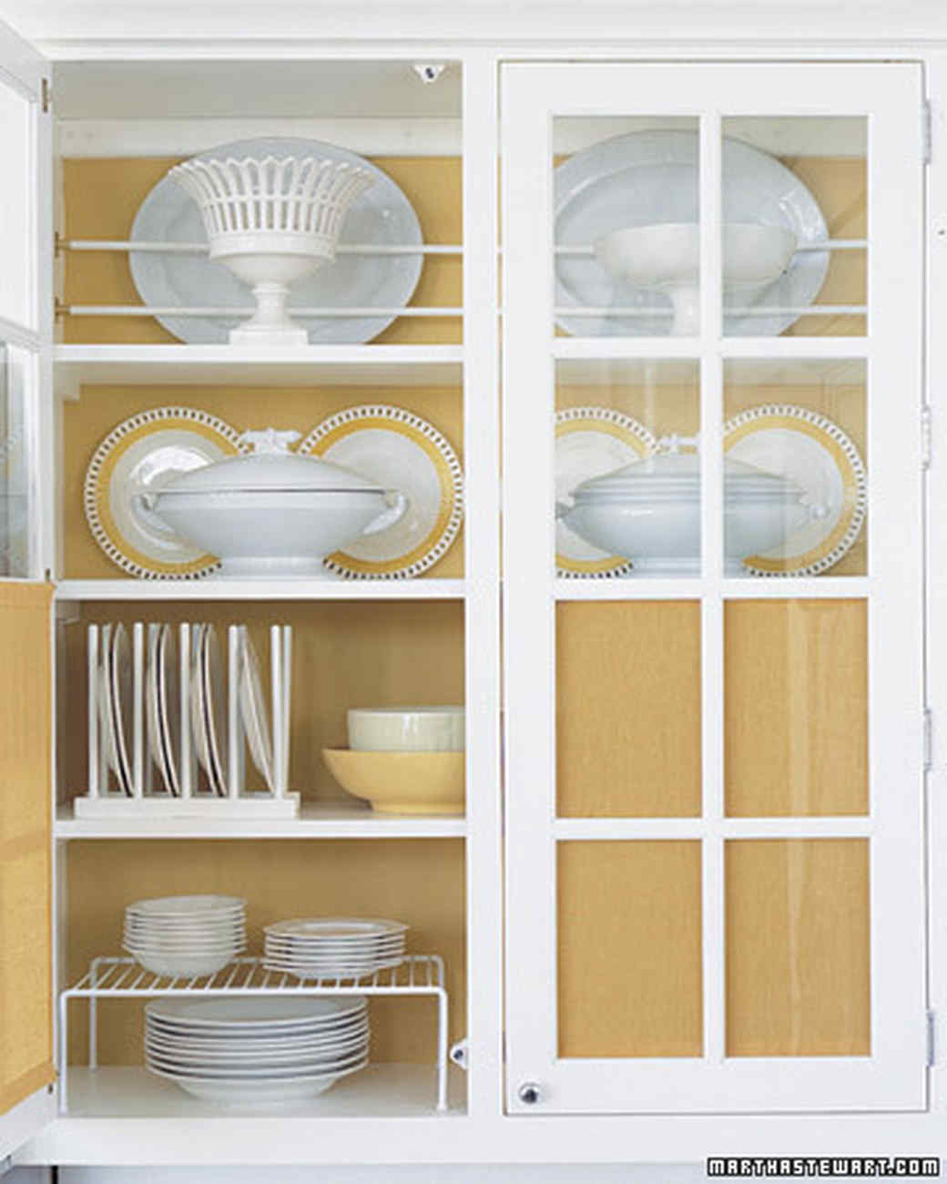 Small Kitchen Storage Ideas For A More Efficient Space Martha Stewart - How to organize kitchen cabinets martha stewart