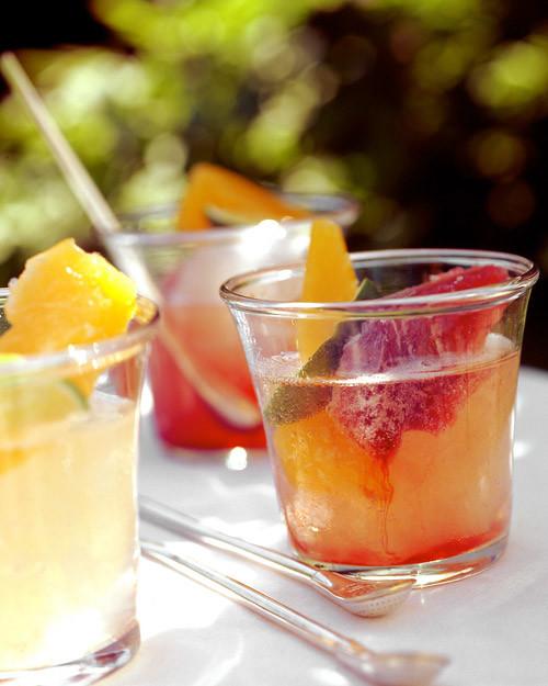 Sparkling Fruit Coolers