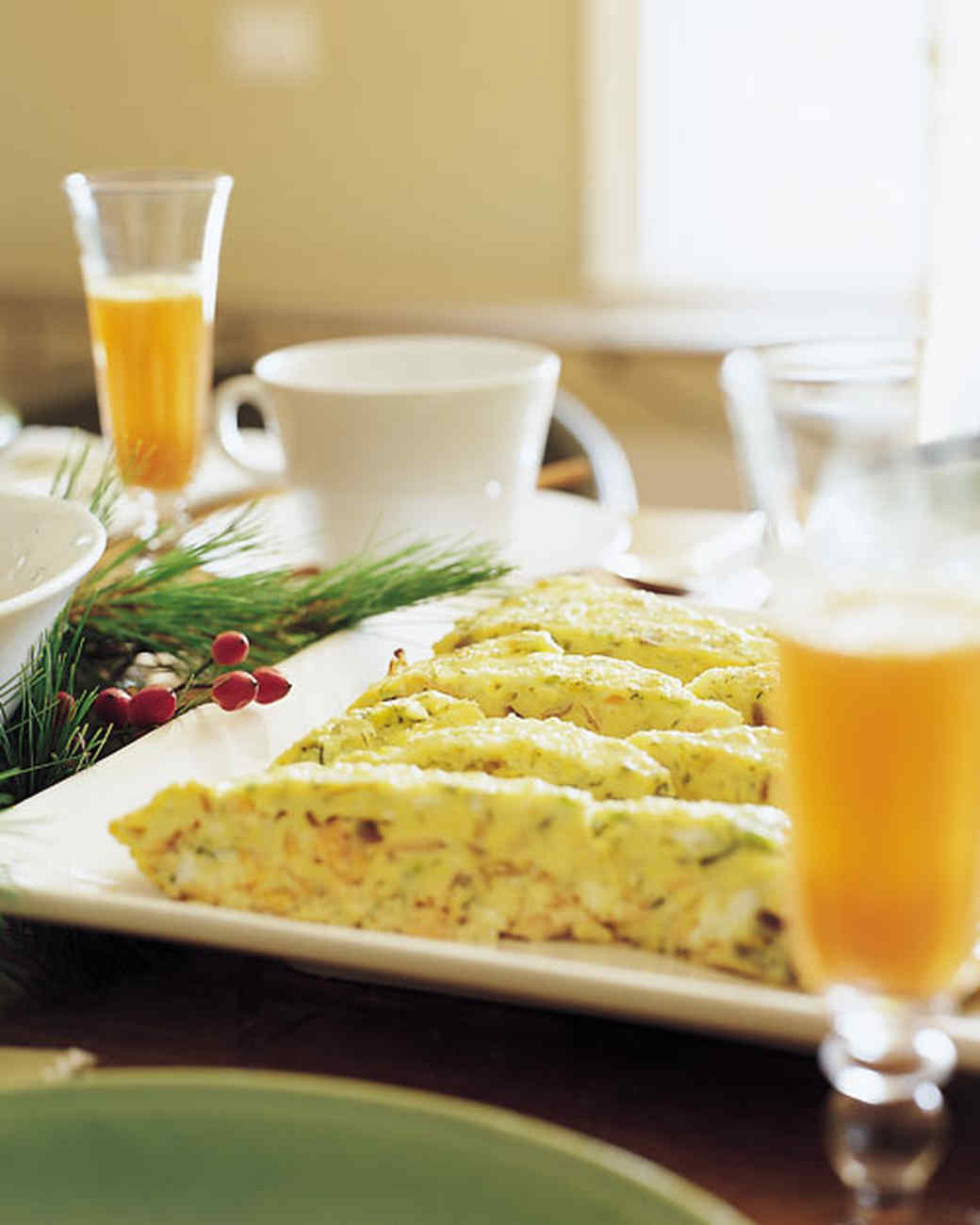 Salmon brunch frittata recipes