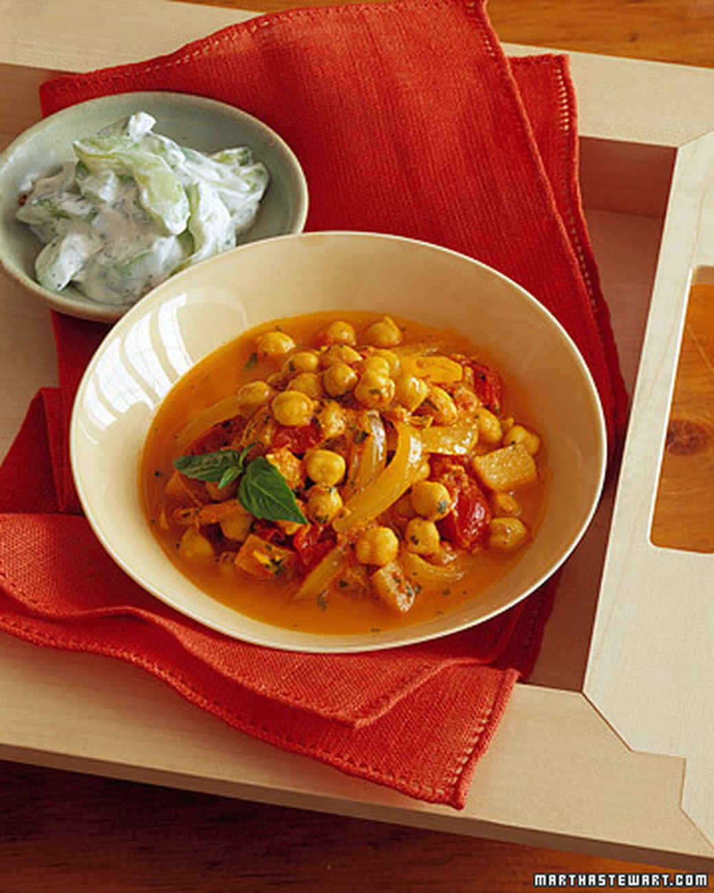 Chickpea Apple Curry