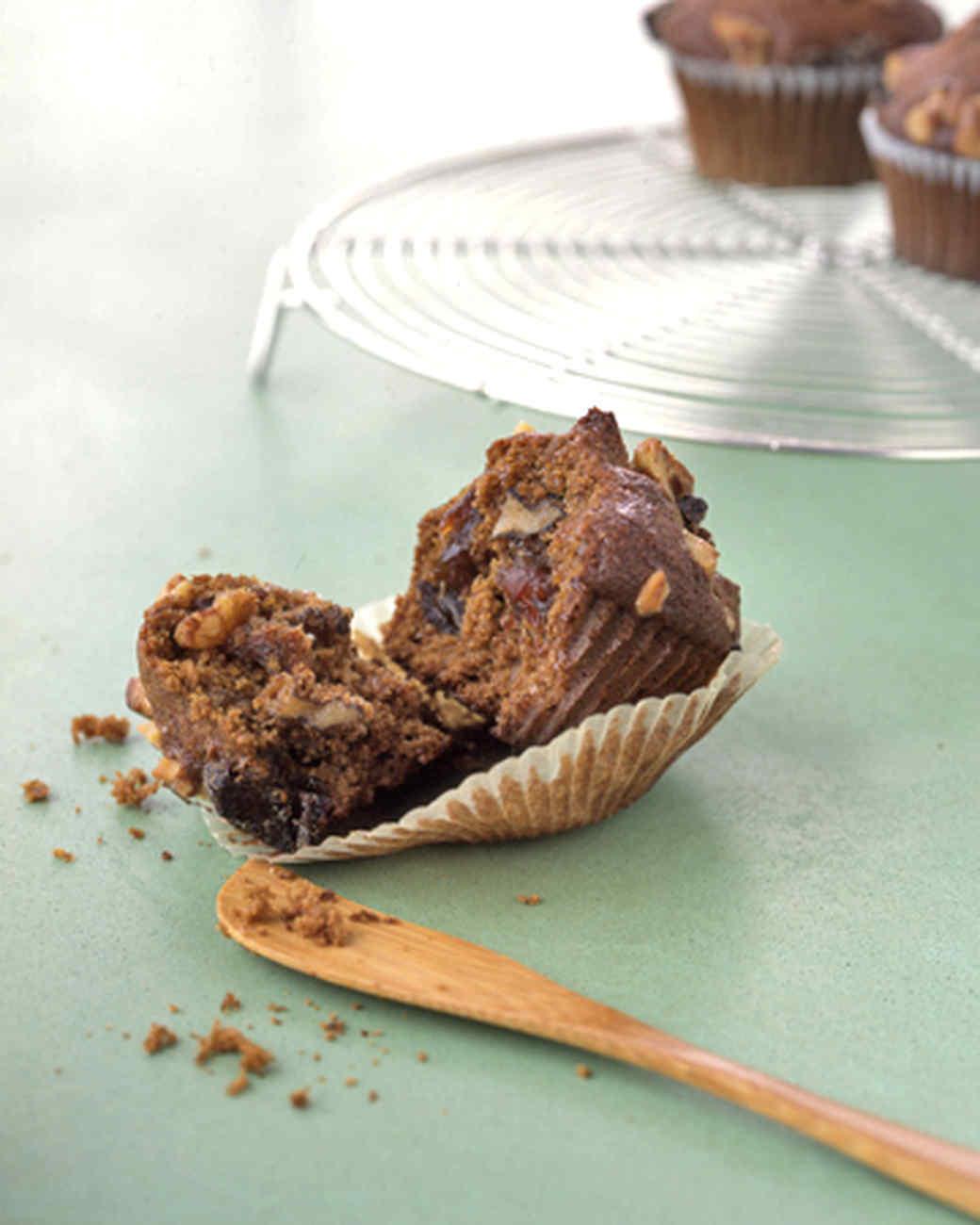 Walnut Date Muffins