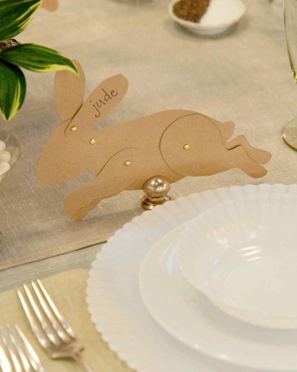 Bunny Place Card