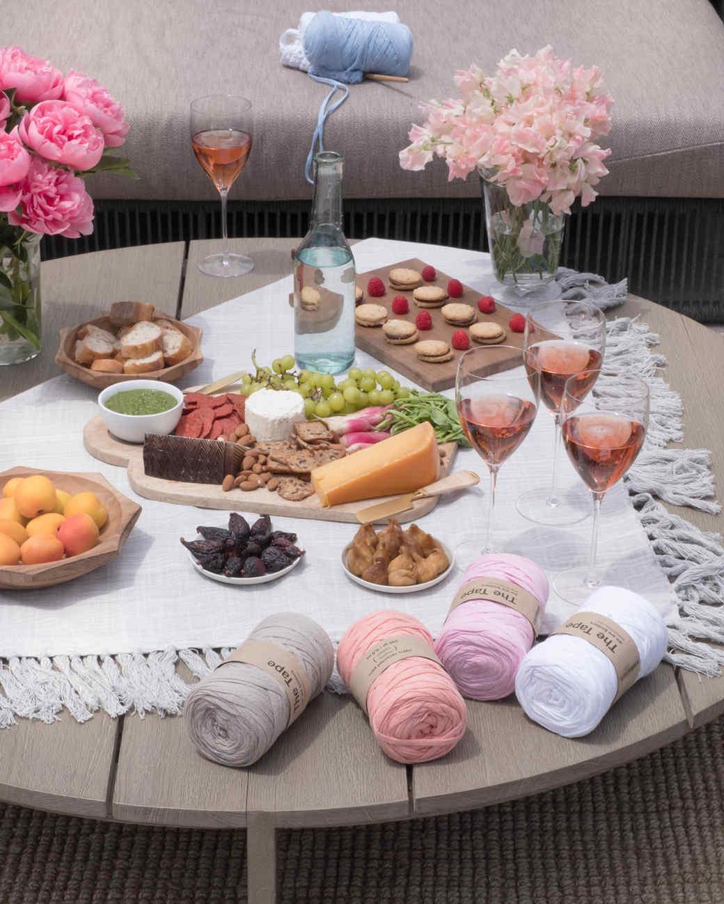 crochet rose party 3