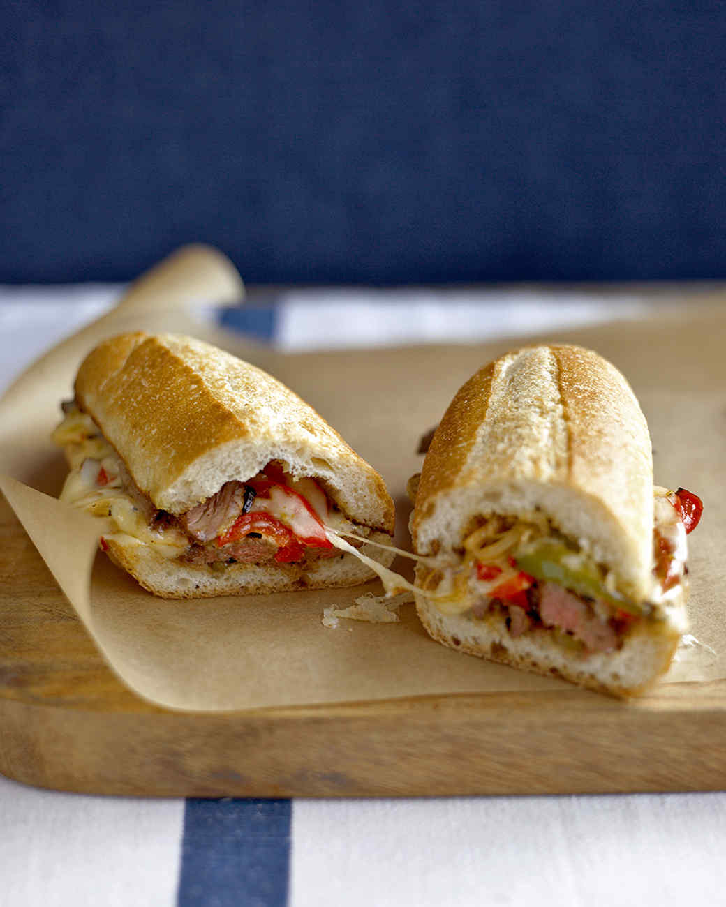 Steak Sandwich with Peppers