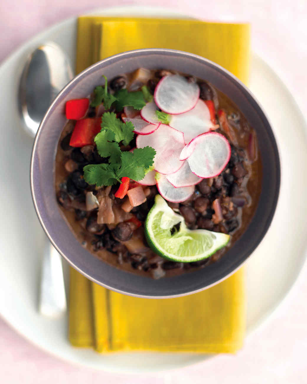 Cuban Black-Bean Stew with Rice