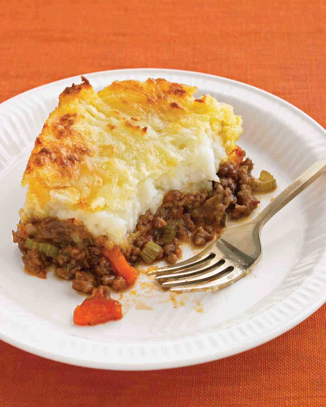 Cheddar-Topped Shepherd's Pie Recipe & Video | Martha Stewart