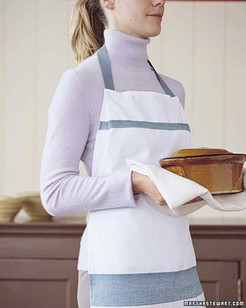 Dish-Towel Apron | Martha Stewart