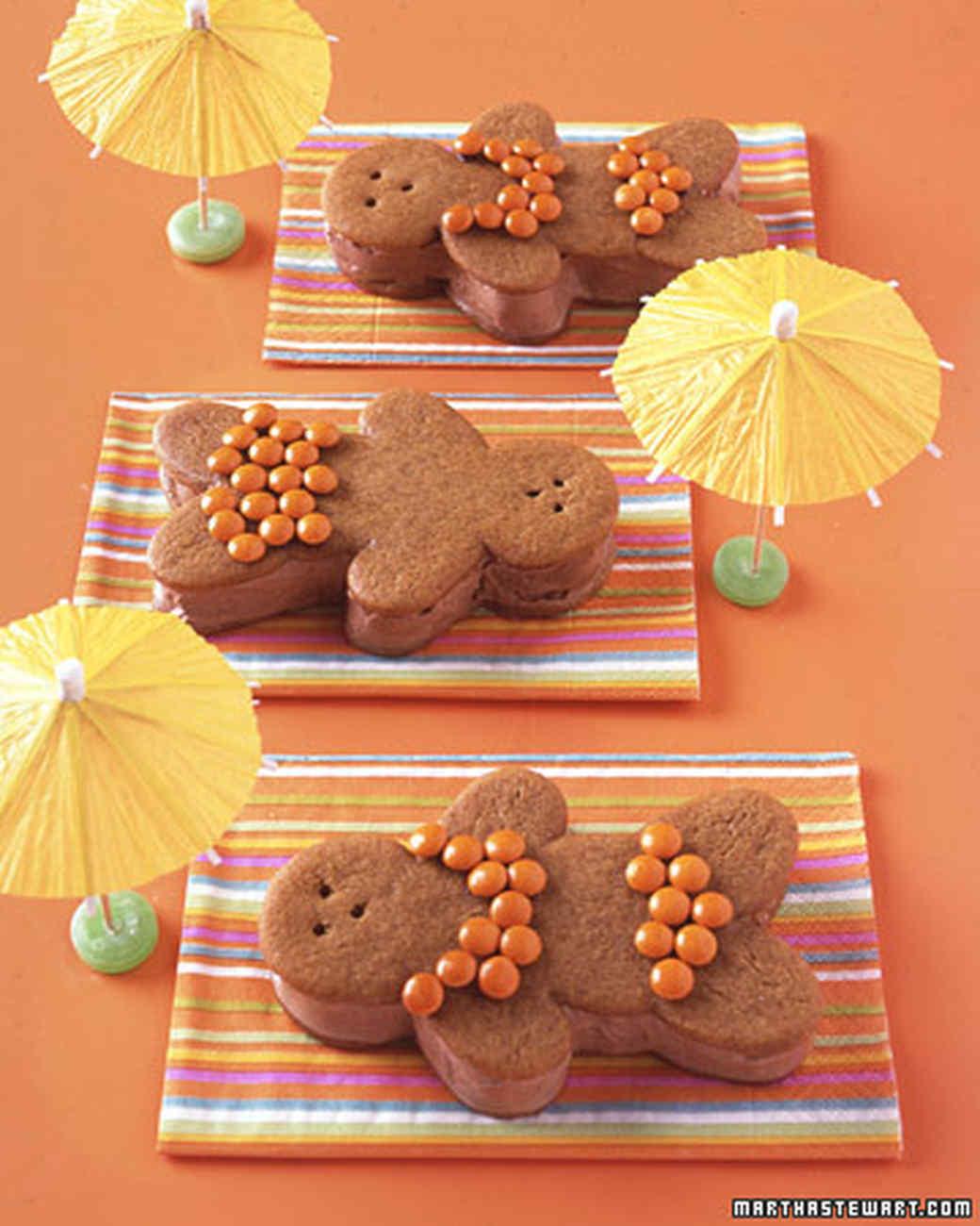 Chocolate-Ginger Bathing Beauties