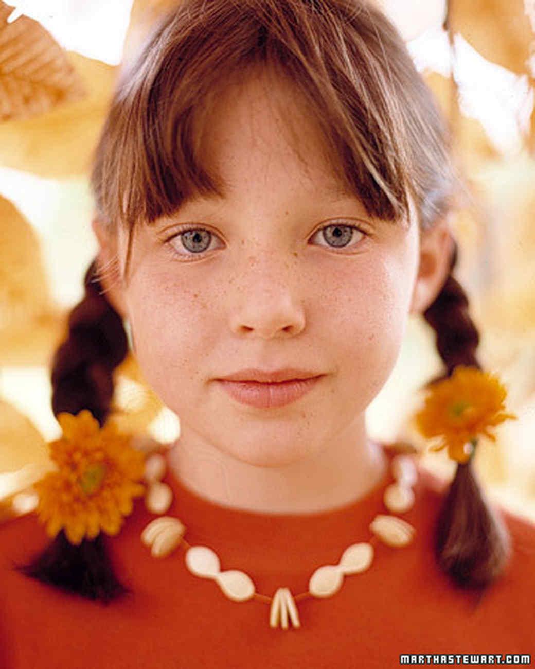 Pumpkin Seed Necklace