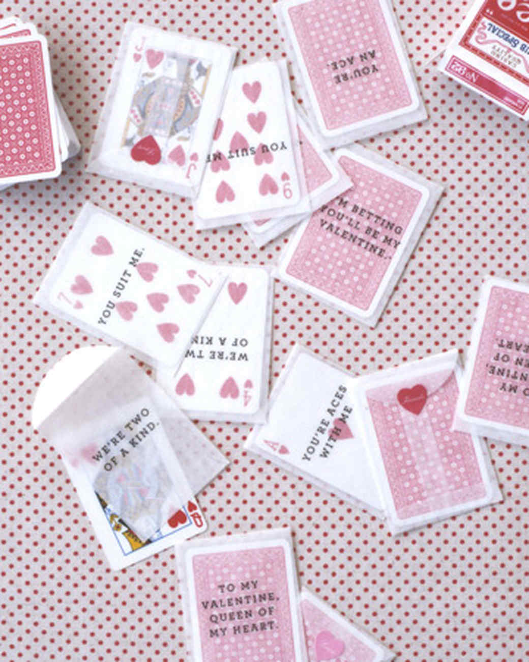 Playing-Card Valentines