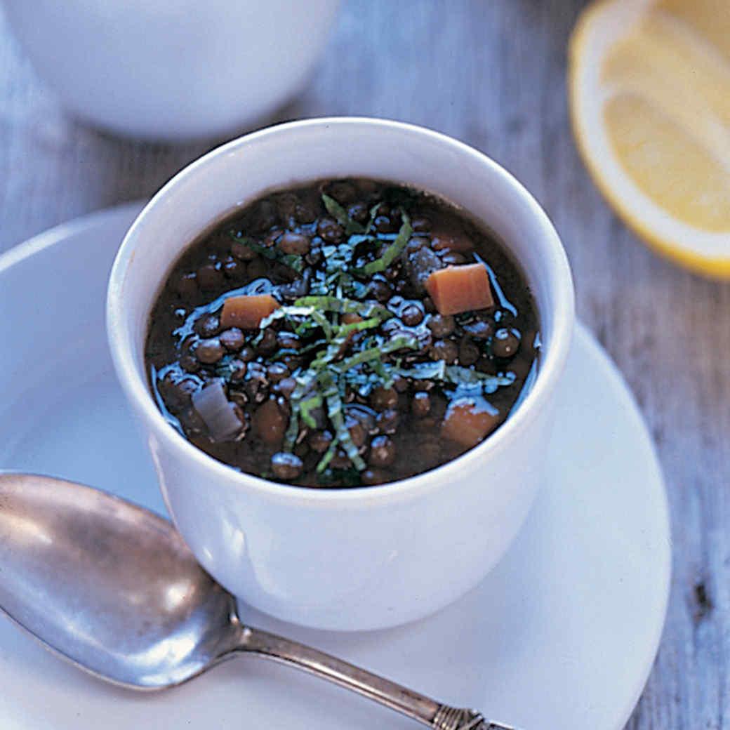 Lentil Soup from Granada
