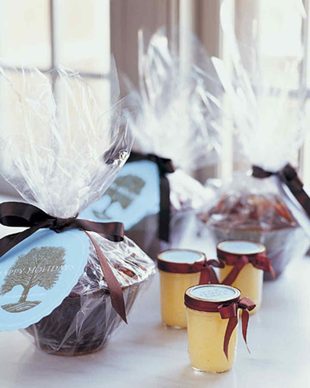 Christmas food gift ideas martha stewart