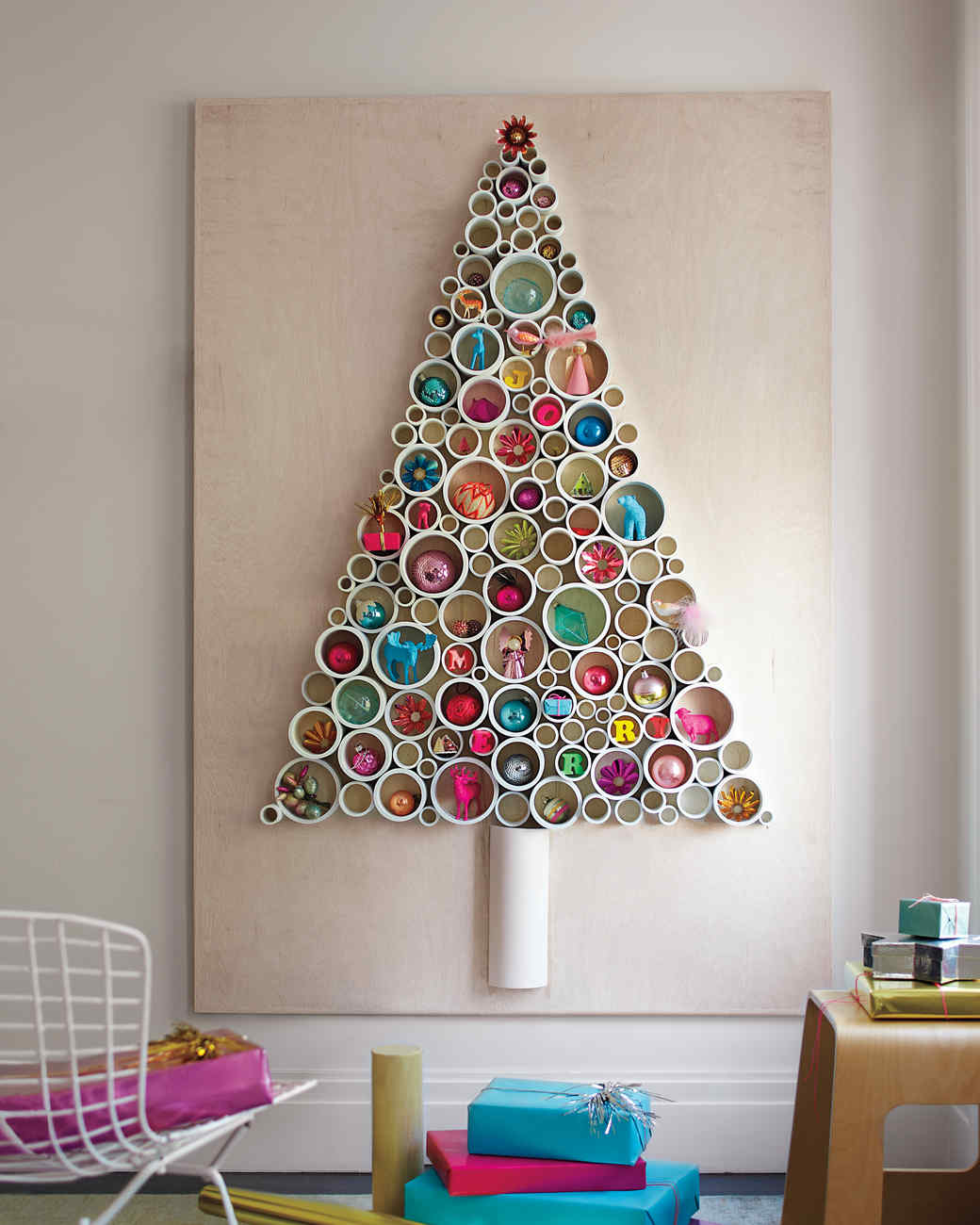 How to make a Christmas tree out of their own pasta 30