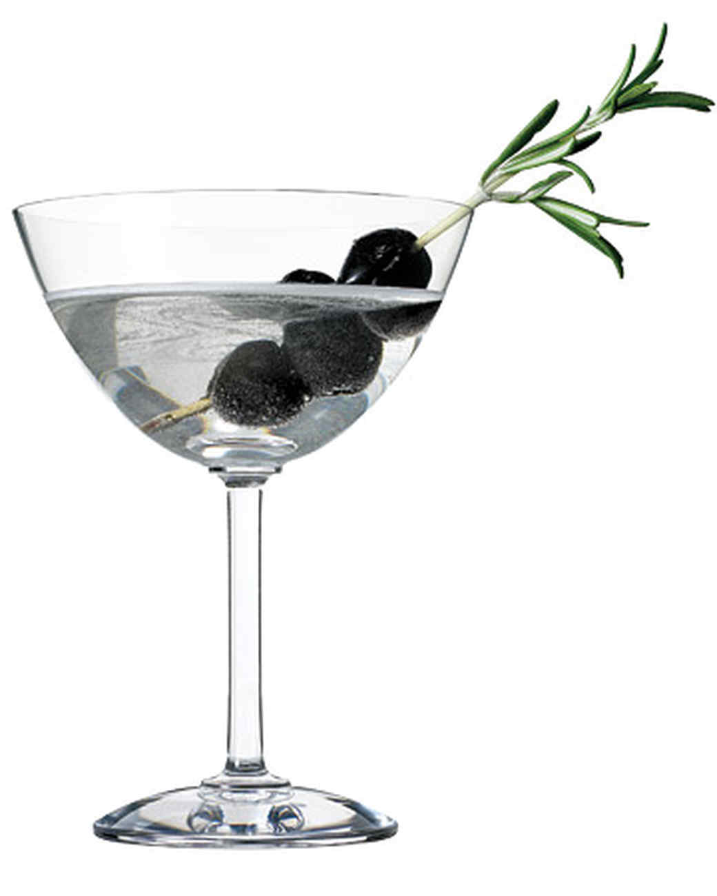 Olive-Rosemary Martini