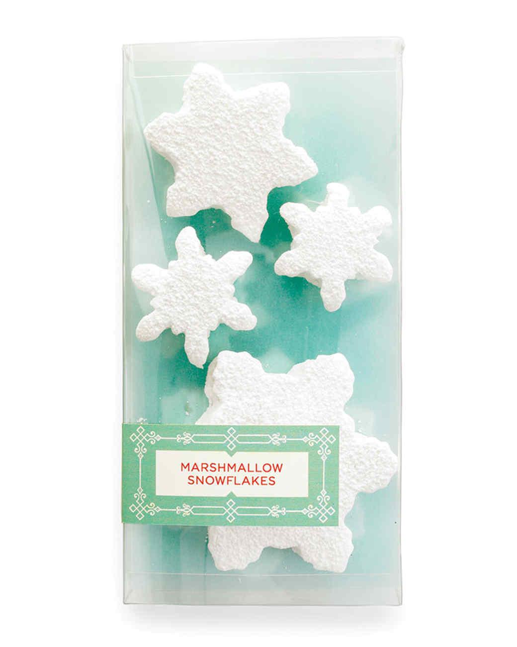 Marshmallow Snowflakes Gift