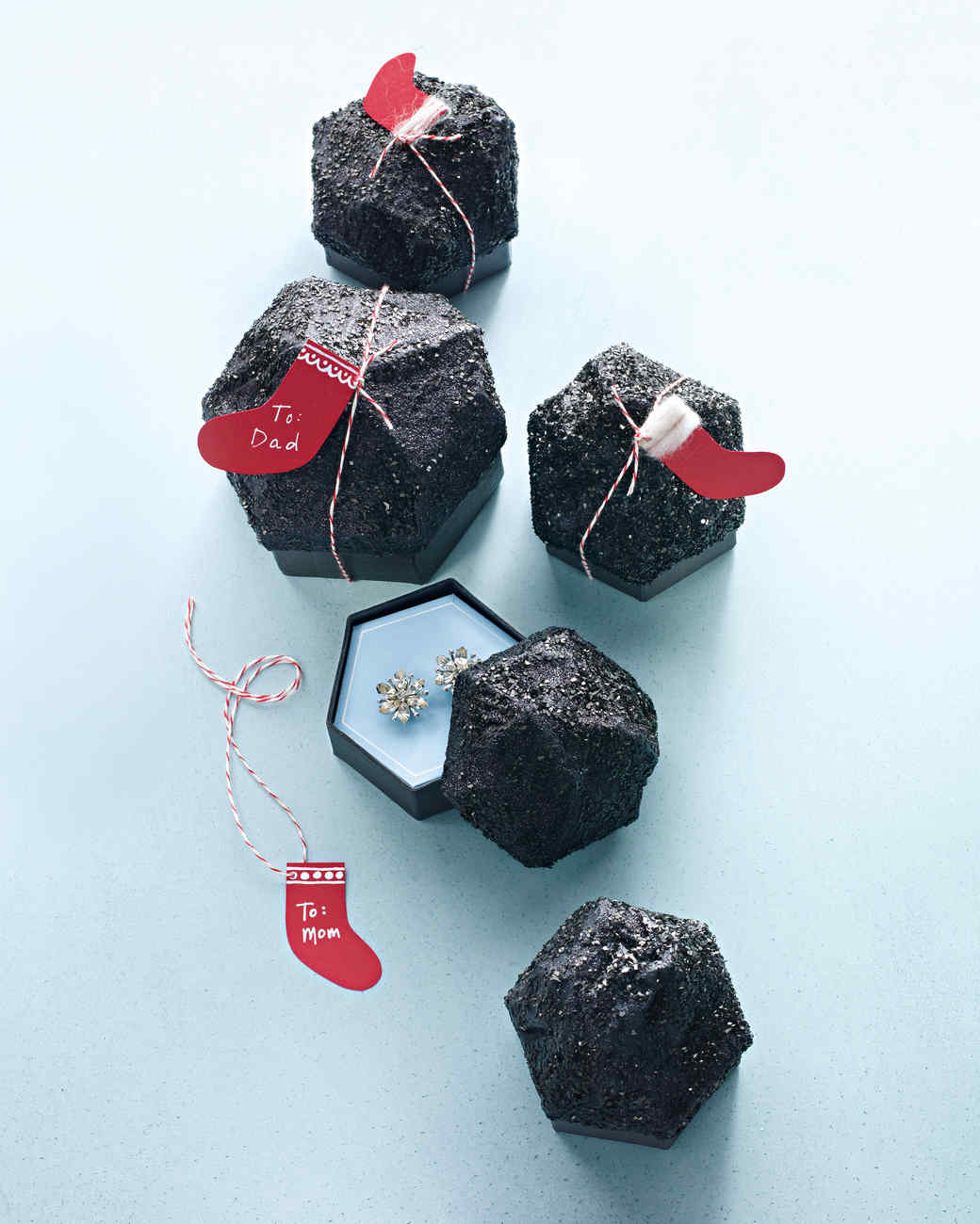 Lump of Coal Gift Box (with a Secret)