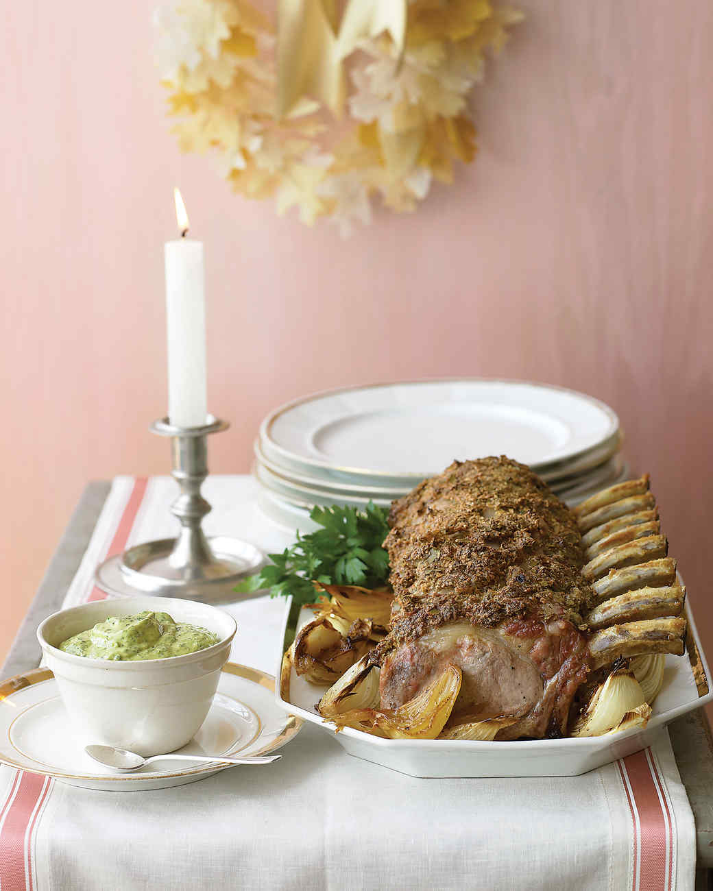 Bay-Leaf-Crusted Pork Roast