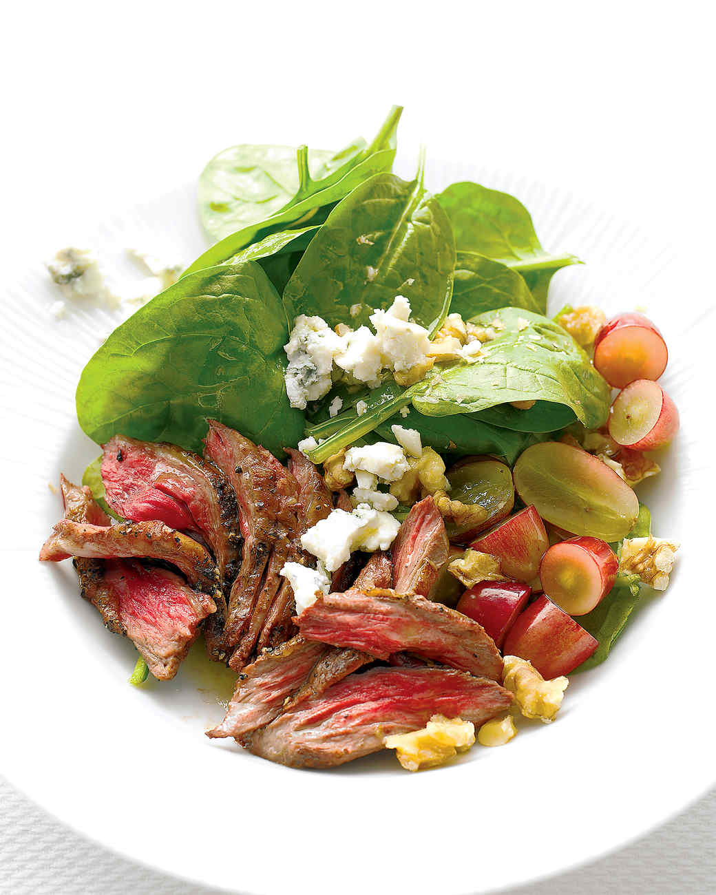 Steak Salad with Spinach