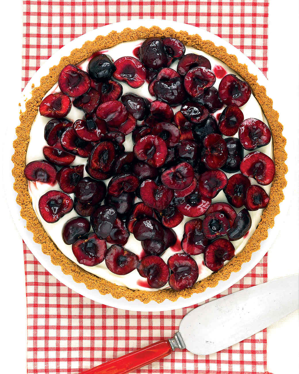 Fresh Cherry Tart