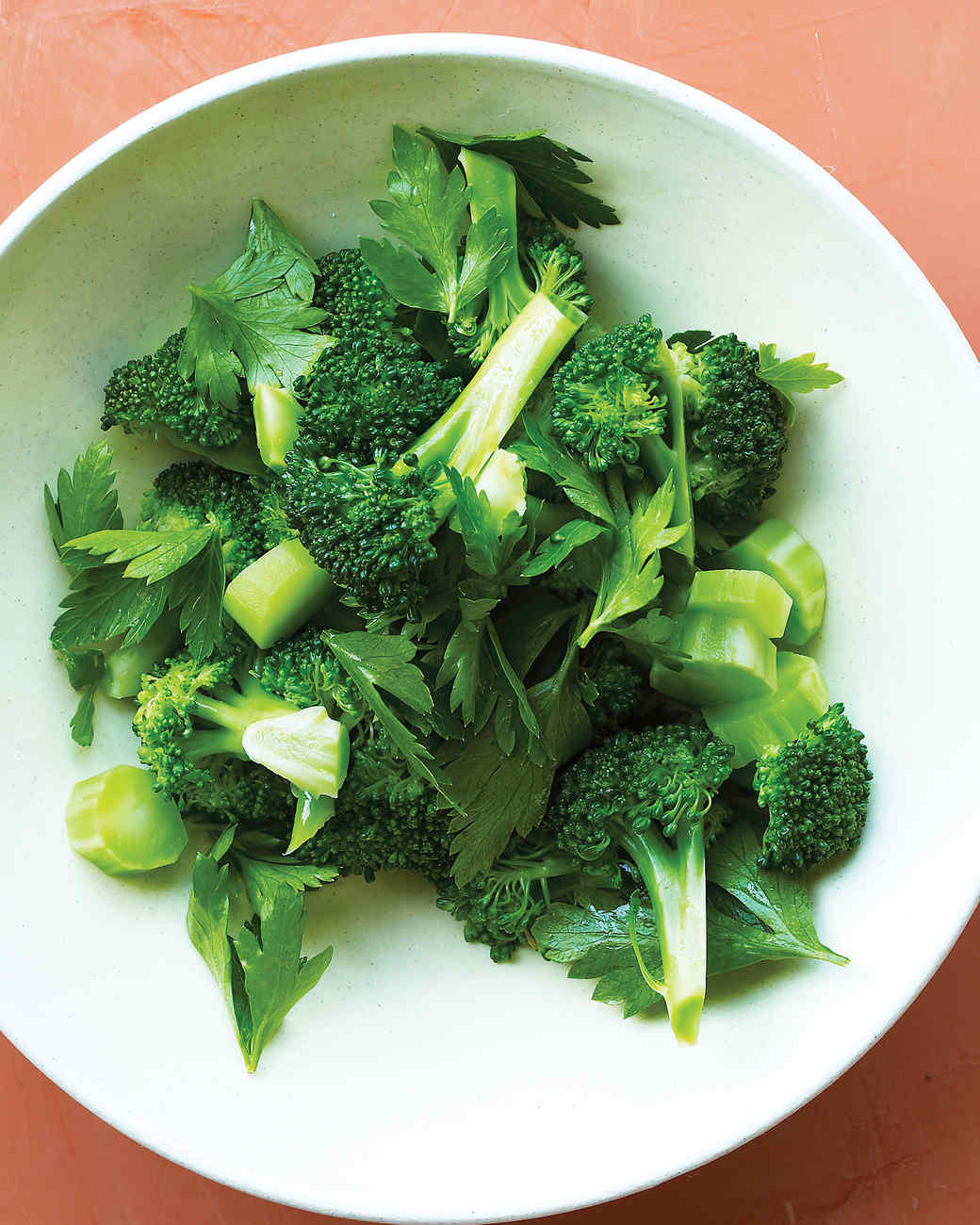 Buttery Broccoli with Parsley